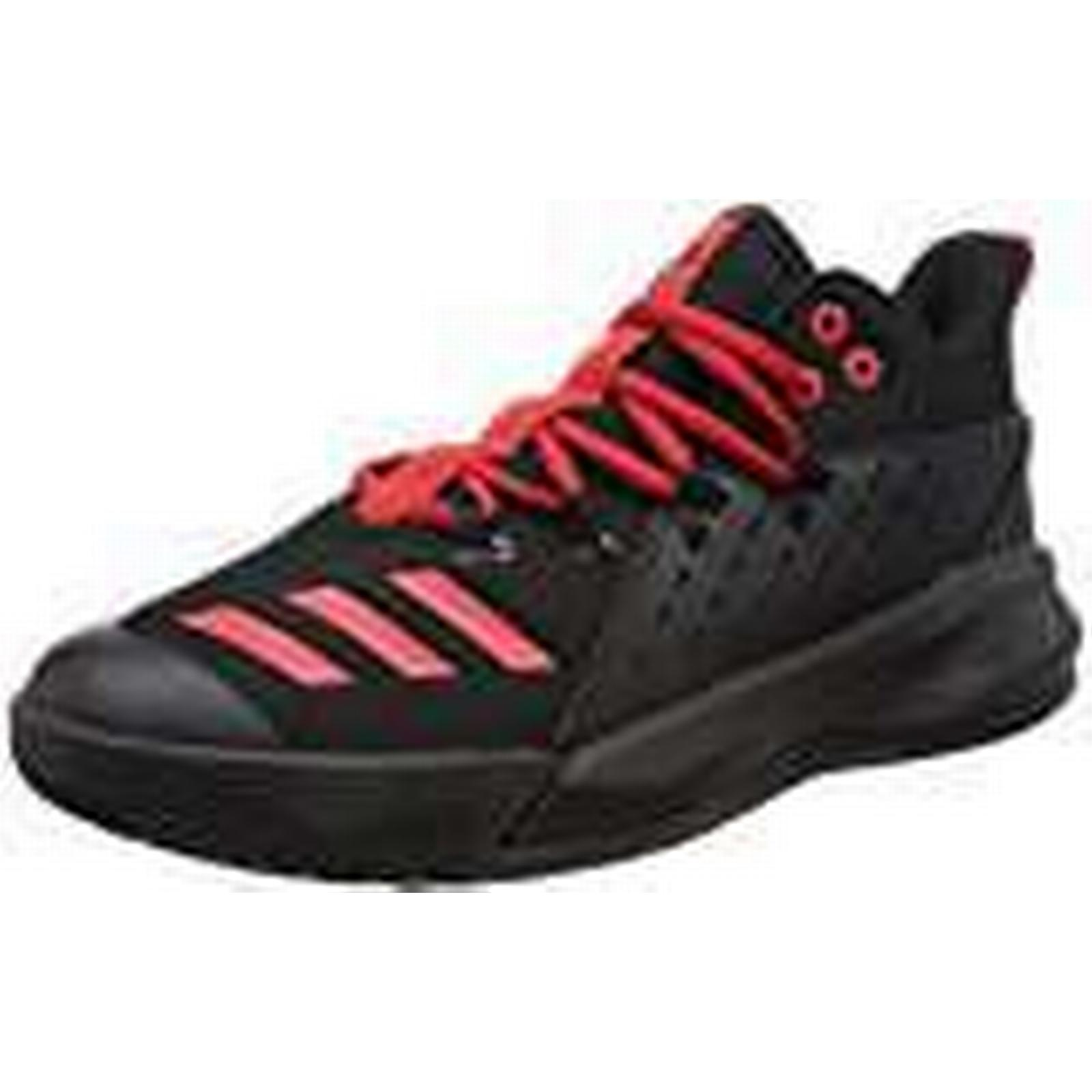 Adidas Men's Street Jam 3 BB7127 Trainers, 9.5 Black/Scarlet Red, Size UK 9.5 Trainers, 282434