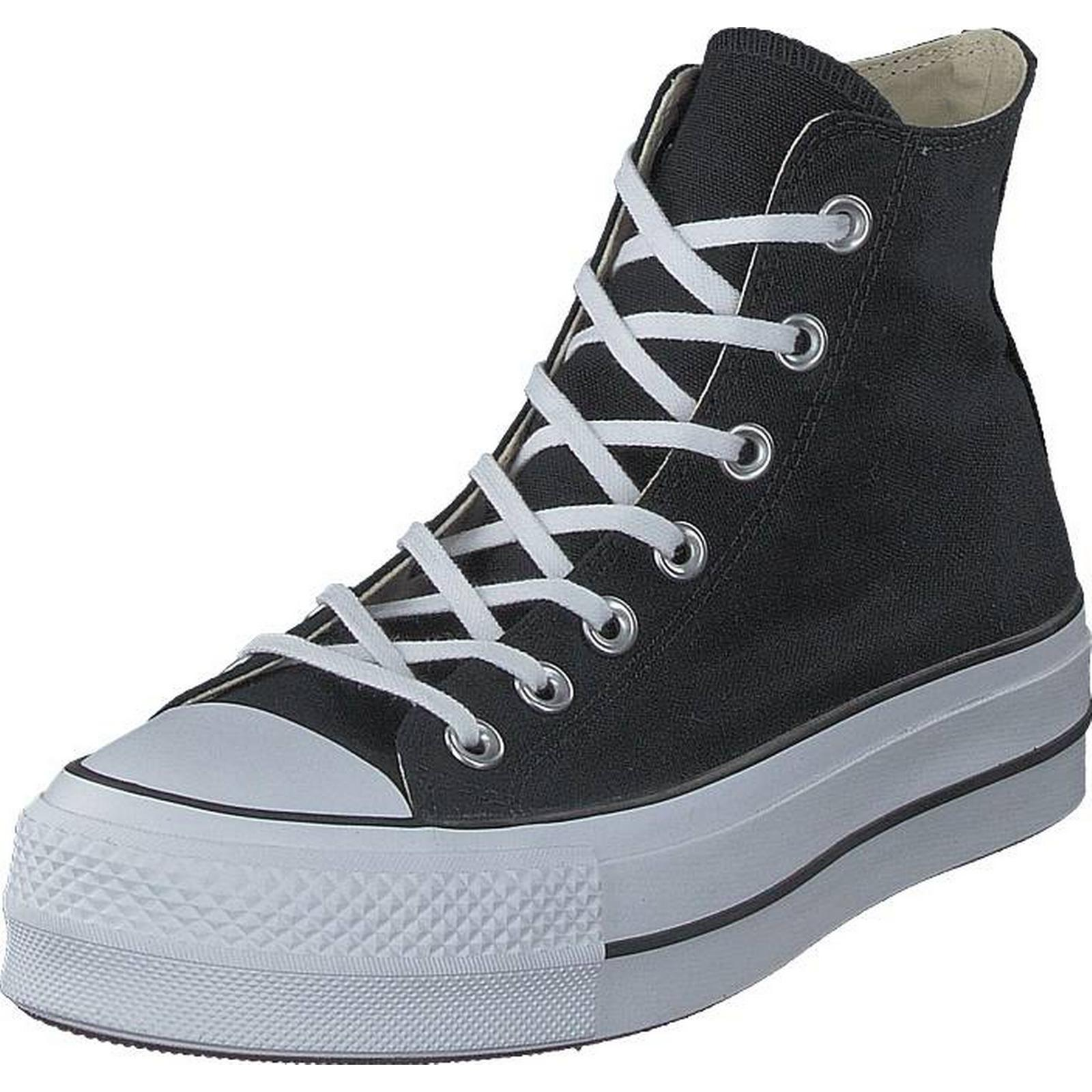 Converse Chuck Taylor All Star Star All Lift Black/white/white, Shoes, Trainers & Sport Shoes , High-top Trainers, Black, Female, 41 ccf304