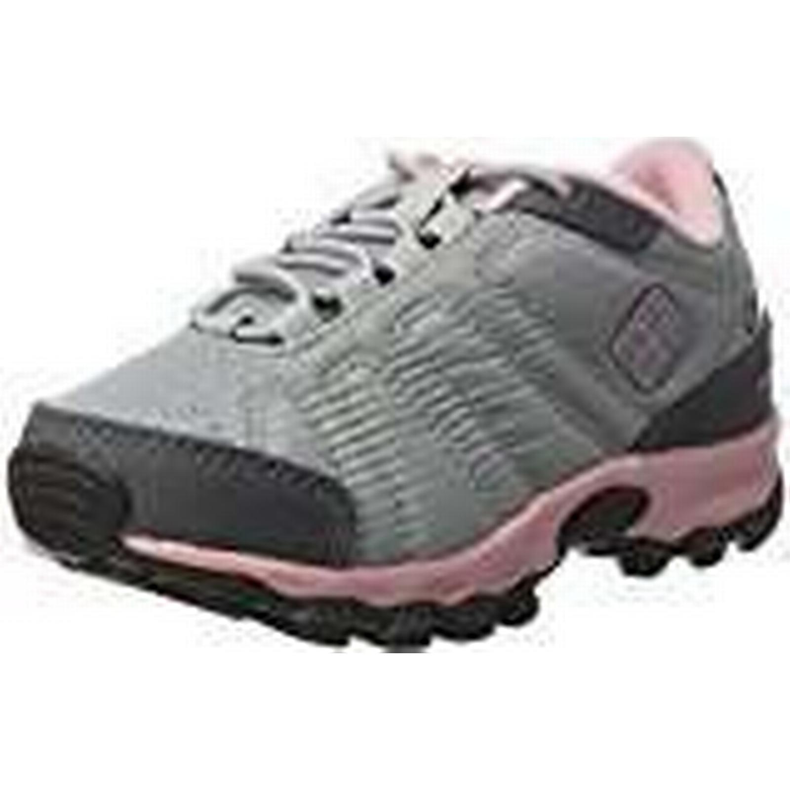 Columbia Unisex Kids' Firecamp Sledder II WP Low Rise Hiking 9 Shoes, Grey (Steam/ Rosewater), 9 Hiking UK Child 90595a