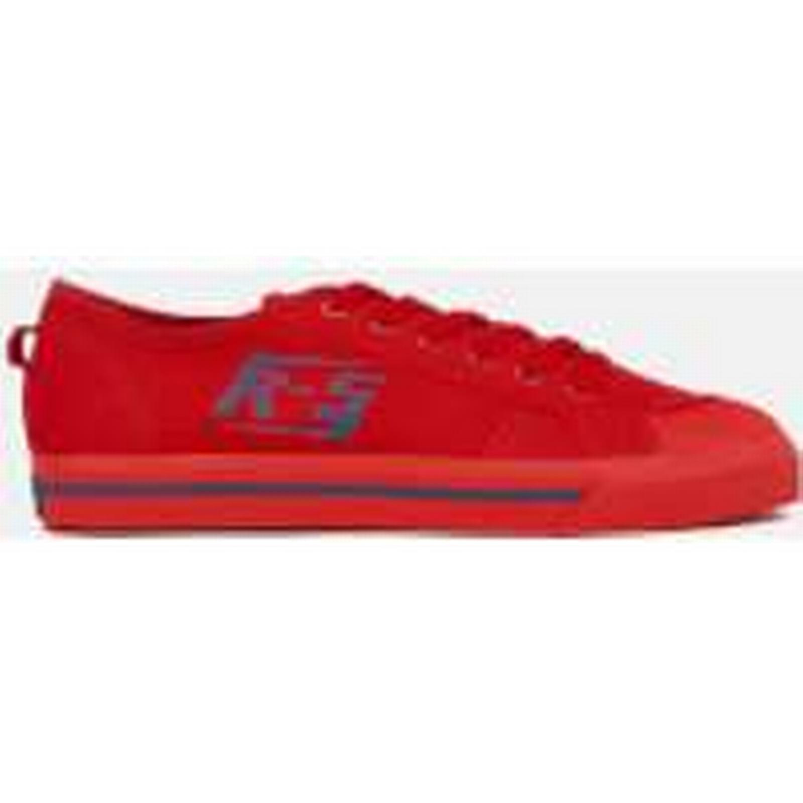 Adidas by Raf Simons Men's Spirit Low Trainers UK - Scarlet/Dust Rust - UK Trainers 9 - Red ab94e1