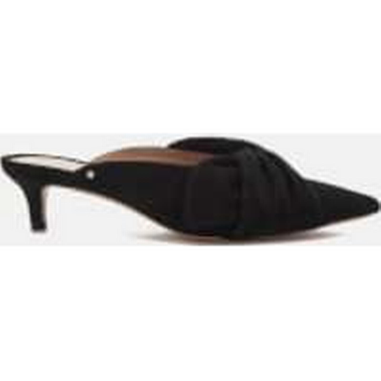 Sam Edelman Women's Heels Laney Suede Pointed Kitten Heels Women's - Black ee138f