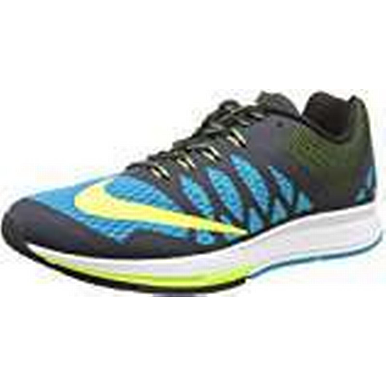 NIKE Air Zoom Elite 7, Men's Obsidian), Shoes, Multicolor (Blue Lagoon/Volt/Dark Obsidian), Men's 7.5 UK b04706