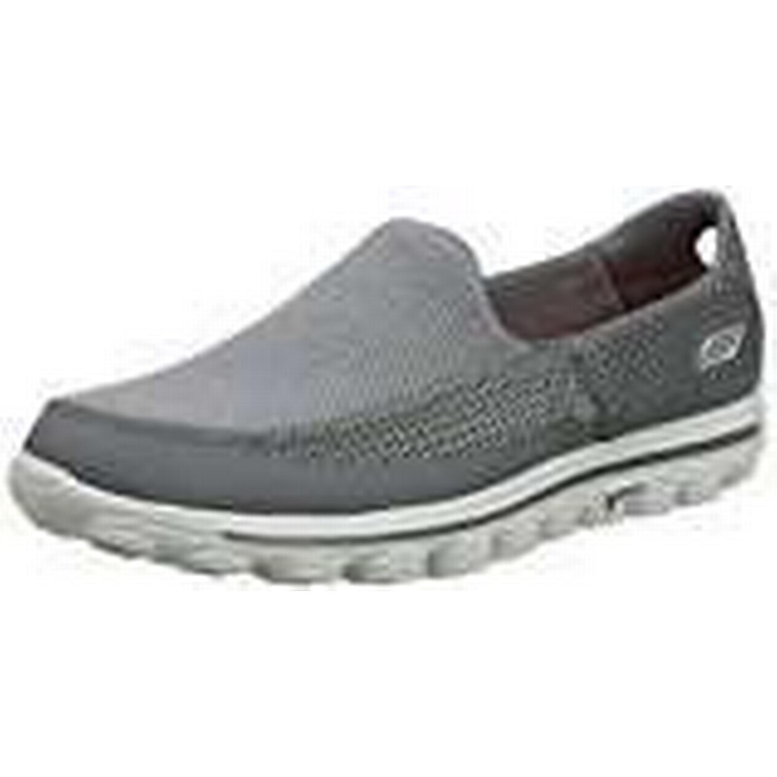 Skechers Go Walk Sneakers,Grey 2, Men's Sneakers,Grey Walk (Charcoal),12 UK 904424