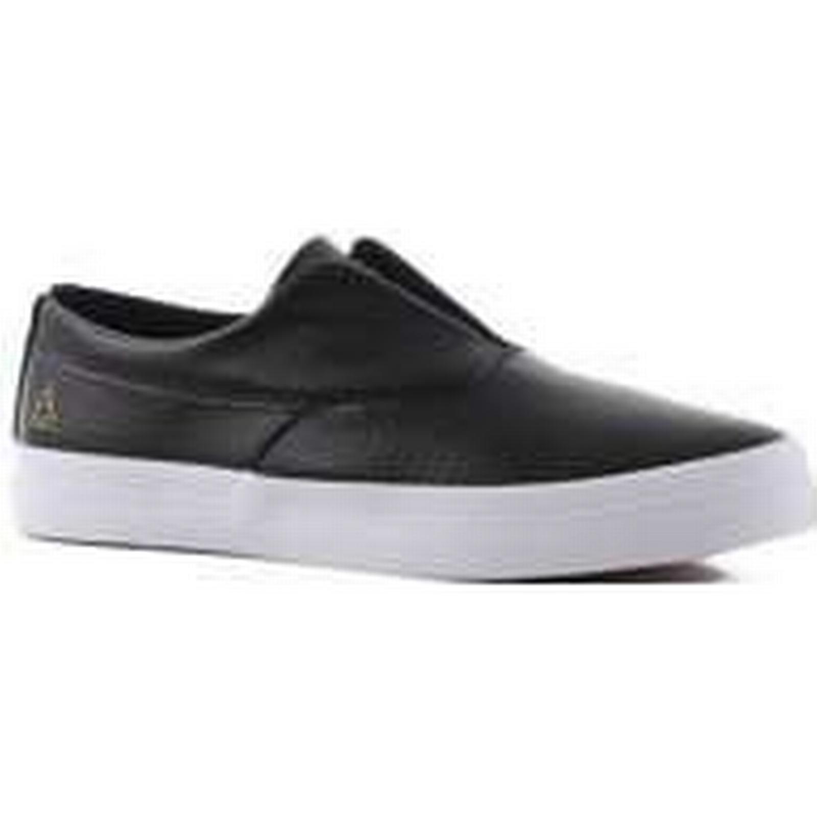 HUF HUF HUF Dylan Slip-On Shoes black c33cca