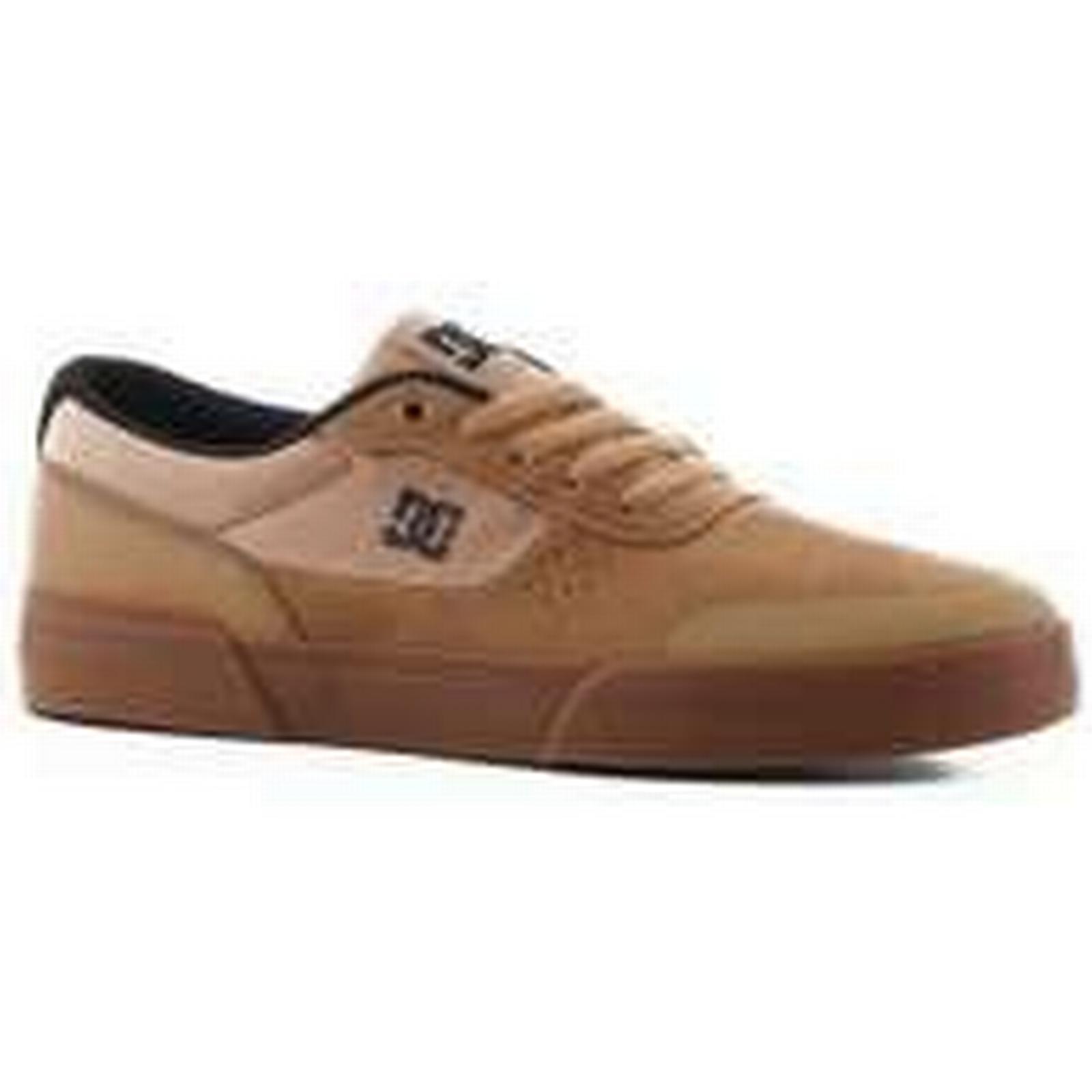 DC Skate Shoes Switch Plus S Skate DC Shoes brown/gum 1a0ca0