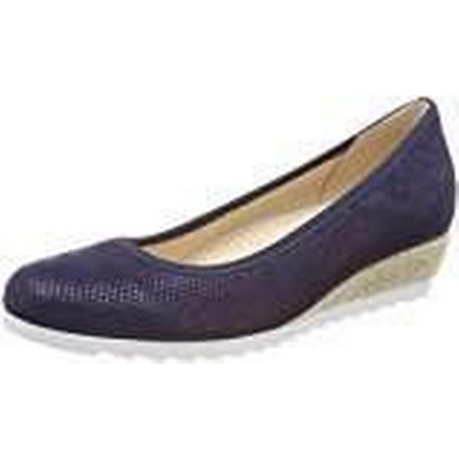 Gabor Women's Comfort-Sport Closed Toe 5 Ballet, Blau (Nightblue (Jute), 5 Toe UK 5 UK f2f91a