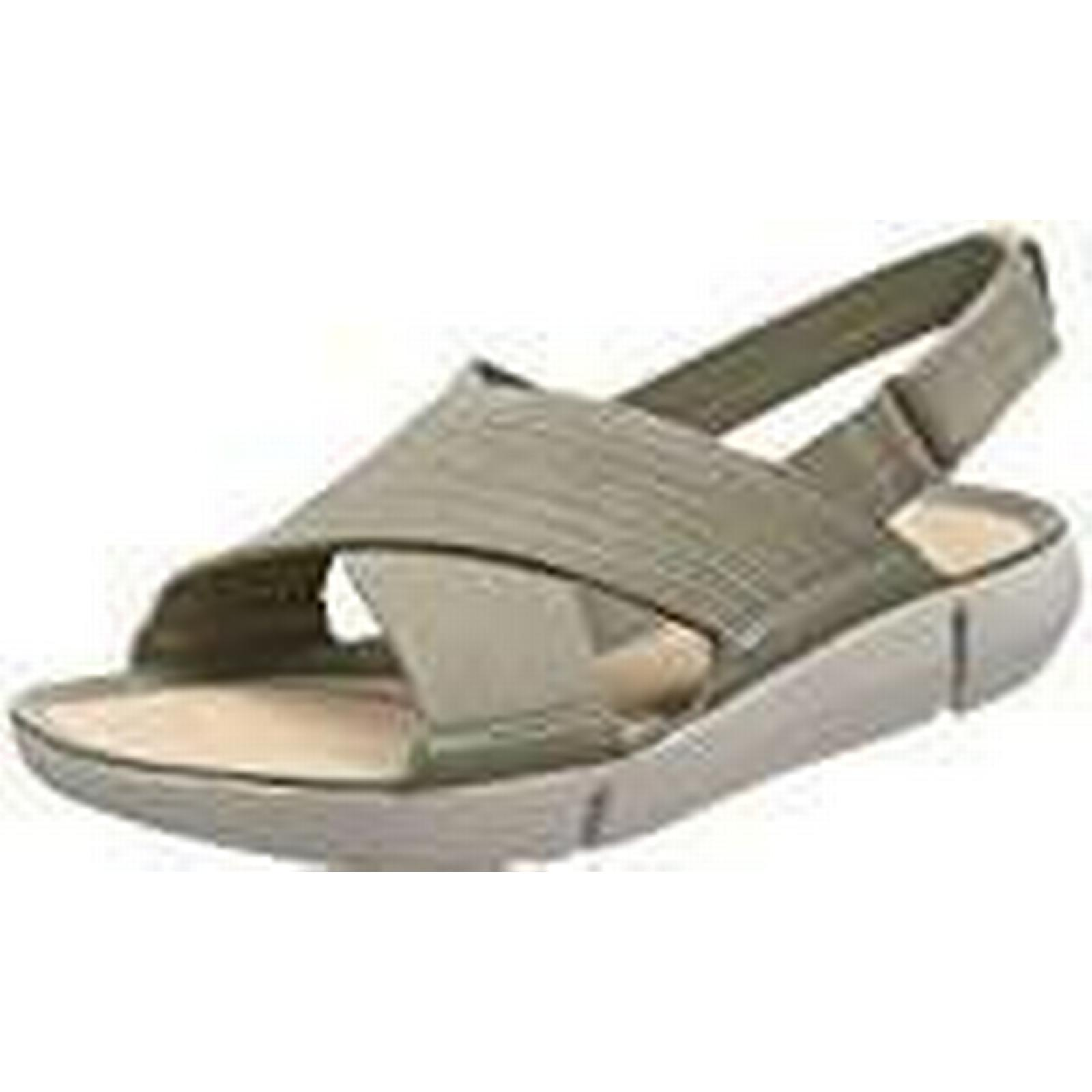 Clarks Women''s Tri Chloe 7.5 Sling Back Sandals, (Light Green), 7.5 Chloe UK 8d9145