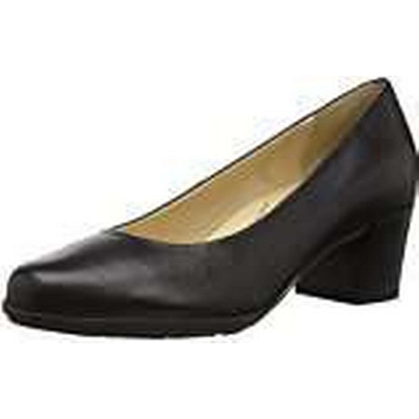 Geox Donna''s D Pumps, Annya Mid B Closed Toe Toe Toe Pumps, D Nero, 2.5 UK ... 1d6061