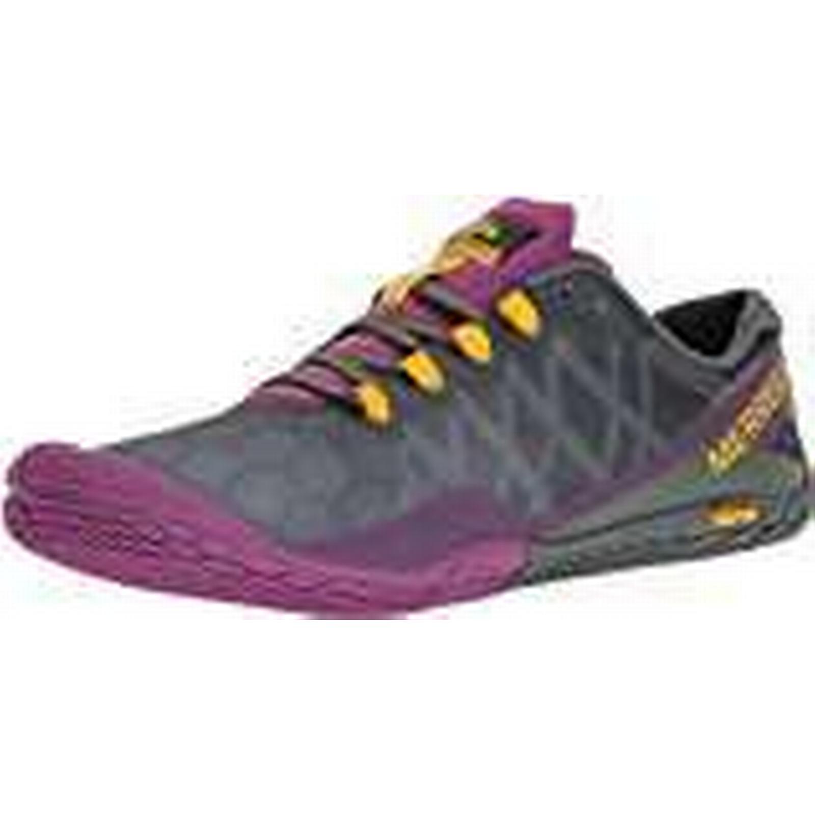 Merrell Women's Vapor Glove 3 Trail 5.5 Running Shoes, Grey (Turbulence), 5.5 Trail UK b32c04