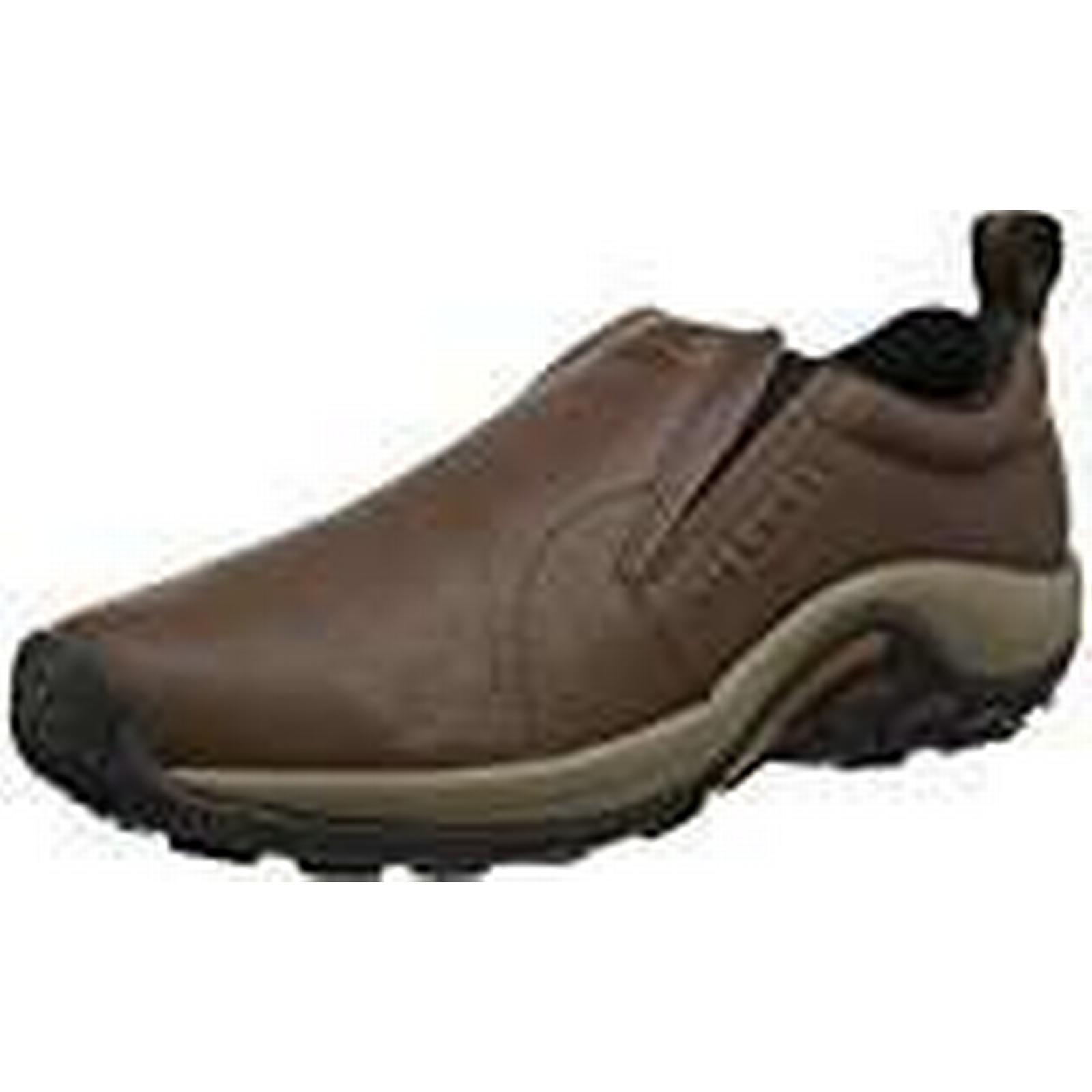 Merrell Jungle Moc, Men's Loafer Shoes - UK Brown (Black Slate), 9.5 UK - 68f142