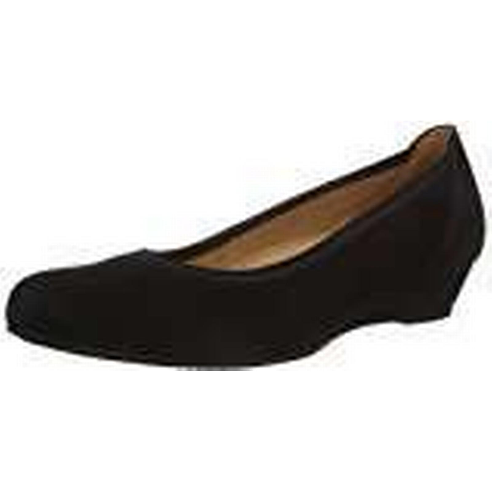 Gabor, Women's, Chester, Closed-Toe Pumps & 4 Heels, Black (Black Suede), 4 & UK 5ad9d5