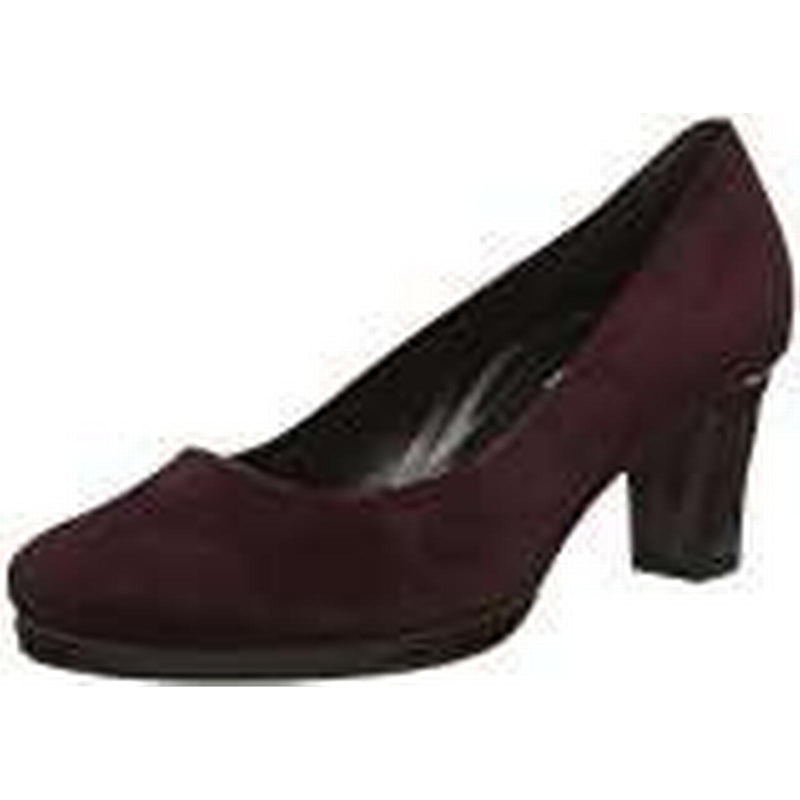 Gabor Women's Comfort Fashion Closed Toe Heels, Red UK (New Merlot 48), 4.5 UK Red 06e1a7