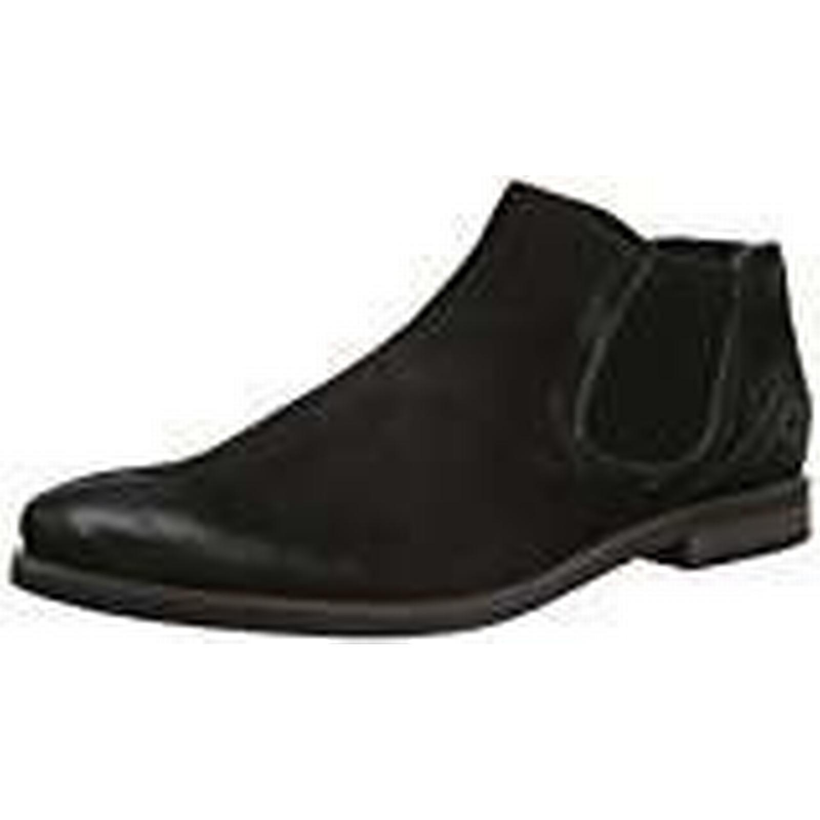 Bugatti Mens Black 312173203500 Chelsea Boots Black Mens Size: 11 UK f73ed6