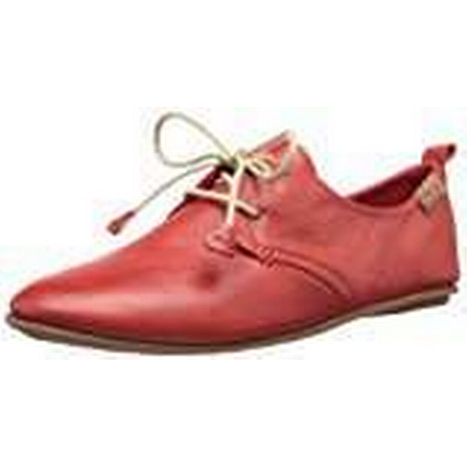 PIkolinos Red Calabria 7123, Women Brogue, Red PIkolinos (Carmin),7 UK (40 EU) 451a00