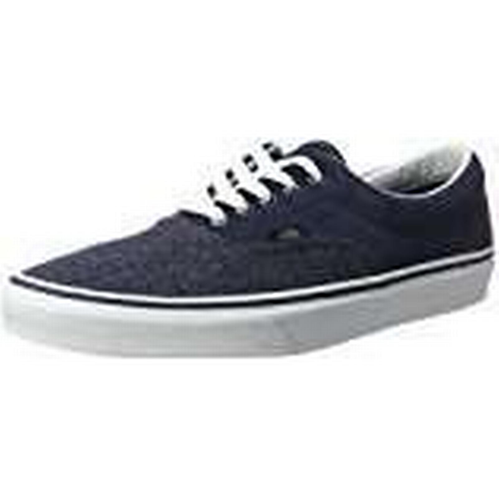 561a6e4cd3df7 Vans Men s Blue Dress suedesuiting Era Trainers U0xUq1
