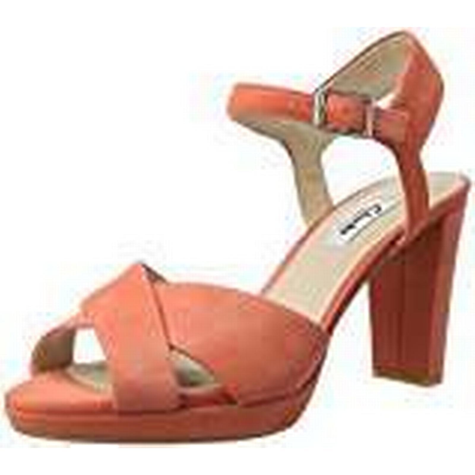 Clarks Kendra Petal, Women's Pumps, UK Orange (Coral Suede), 7.5 UK Pumps, (41.5 EU) 9ca980