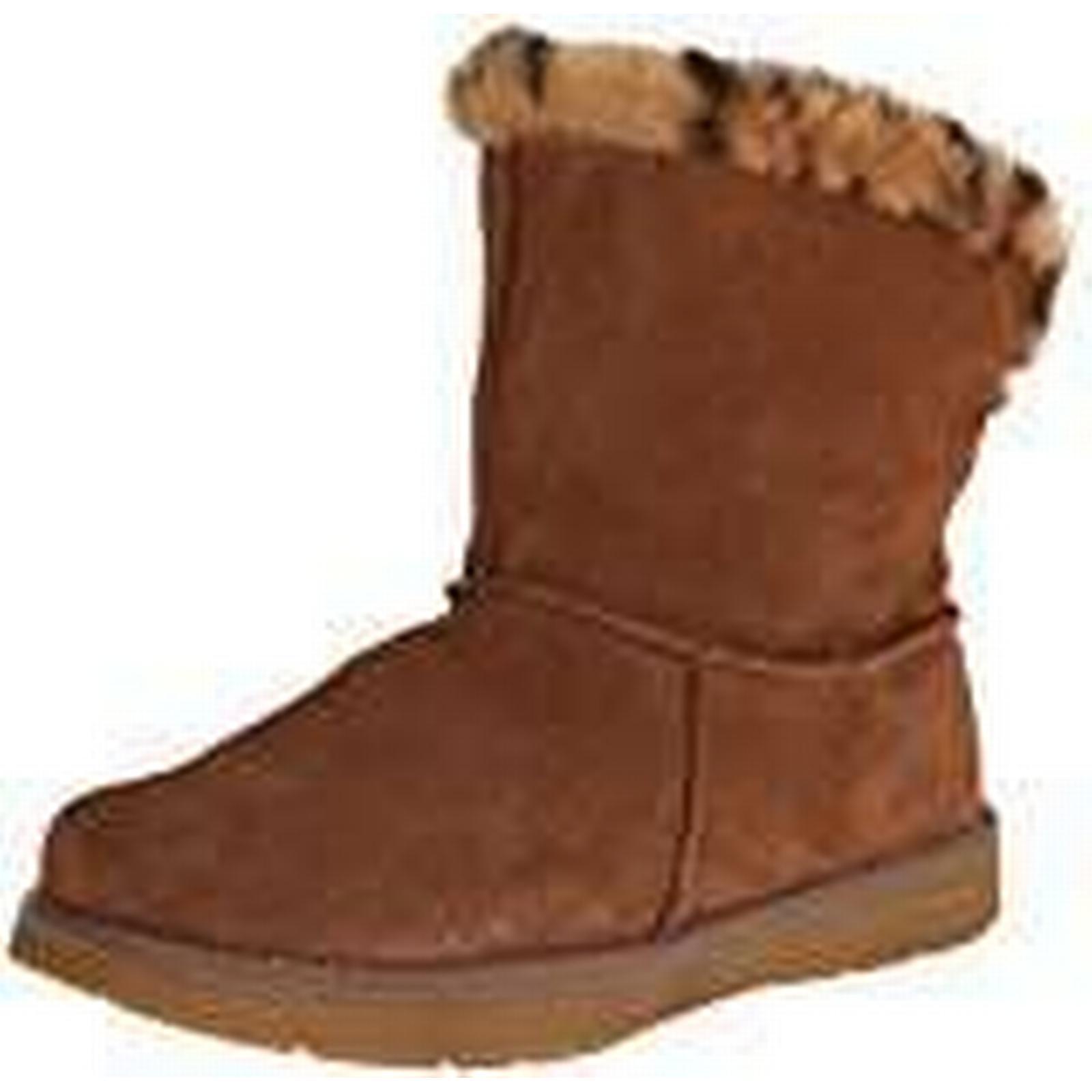 Skechers Adorbs Polar UK Women's Boots,Beige (Chestnut),6 UK Polar (39 EU) fa2630