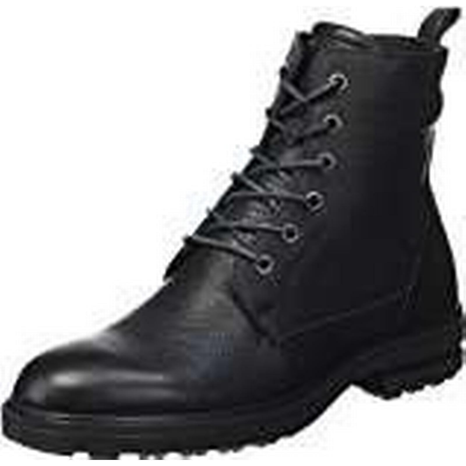 ECCO EU Women's Zoe Combat Boots, Black (Black/black), 40 M EU ECCO / 9-9.5 B(M) US f11e22