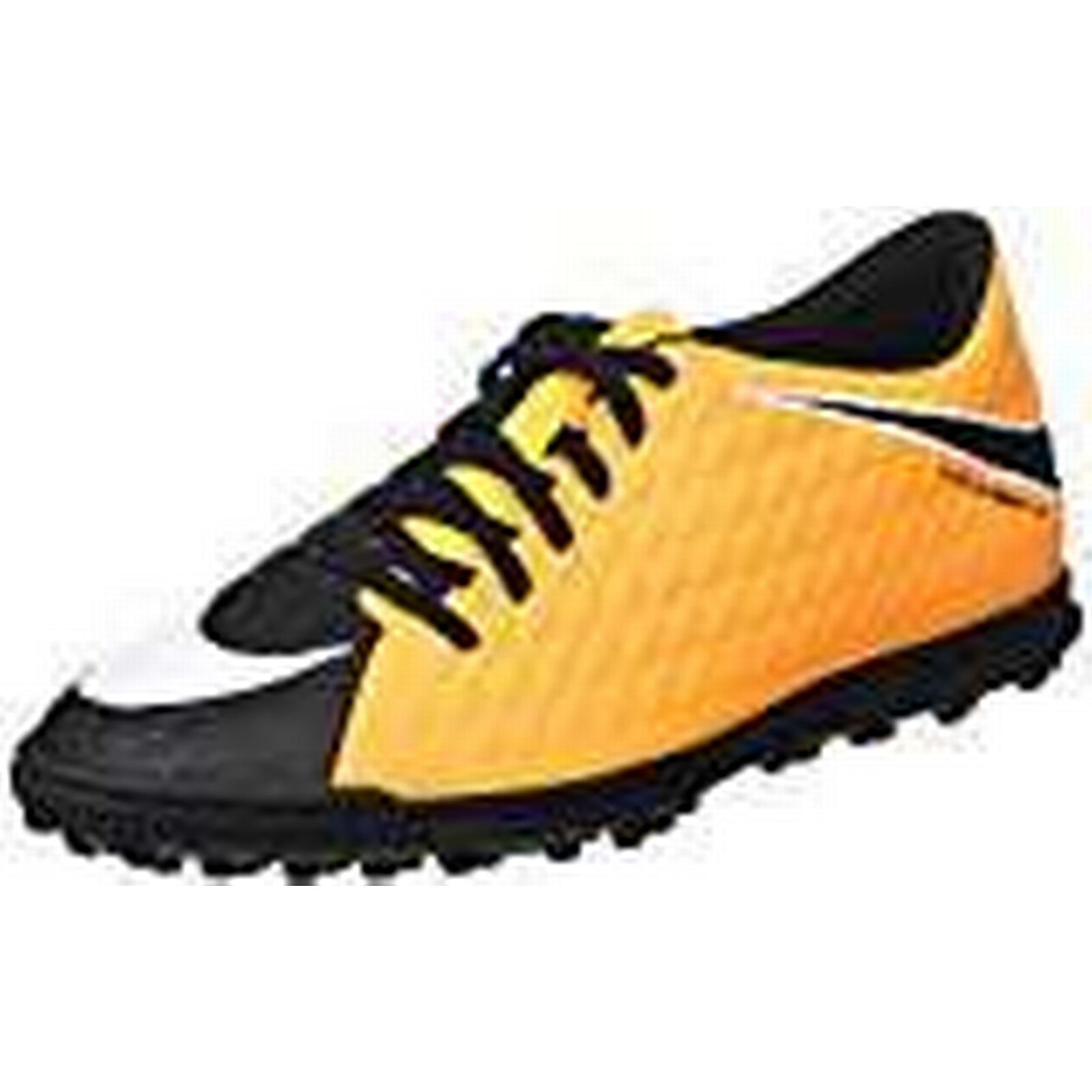 NIKE Men's Hypervenomx Phade Iii Tf Football Boots UK (Laser Orange Black/Volt/White), 9.5 UK Boots 44.5 EU f3b103