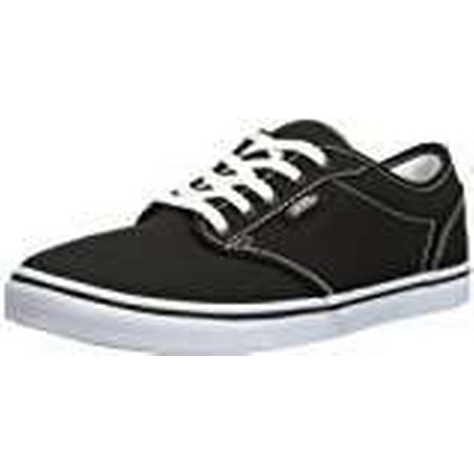 Vans Atwood Low Valcanised Skate, White, Women's Low-Top Trainers, Black/True White, Skate, 7 UK / 40.5 EU b727a0