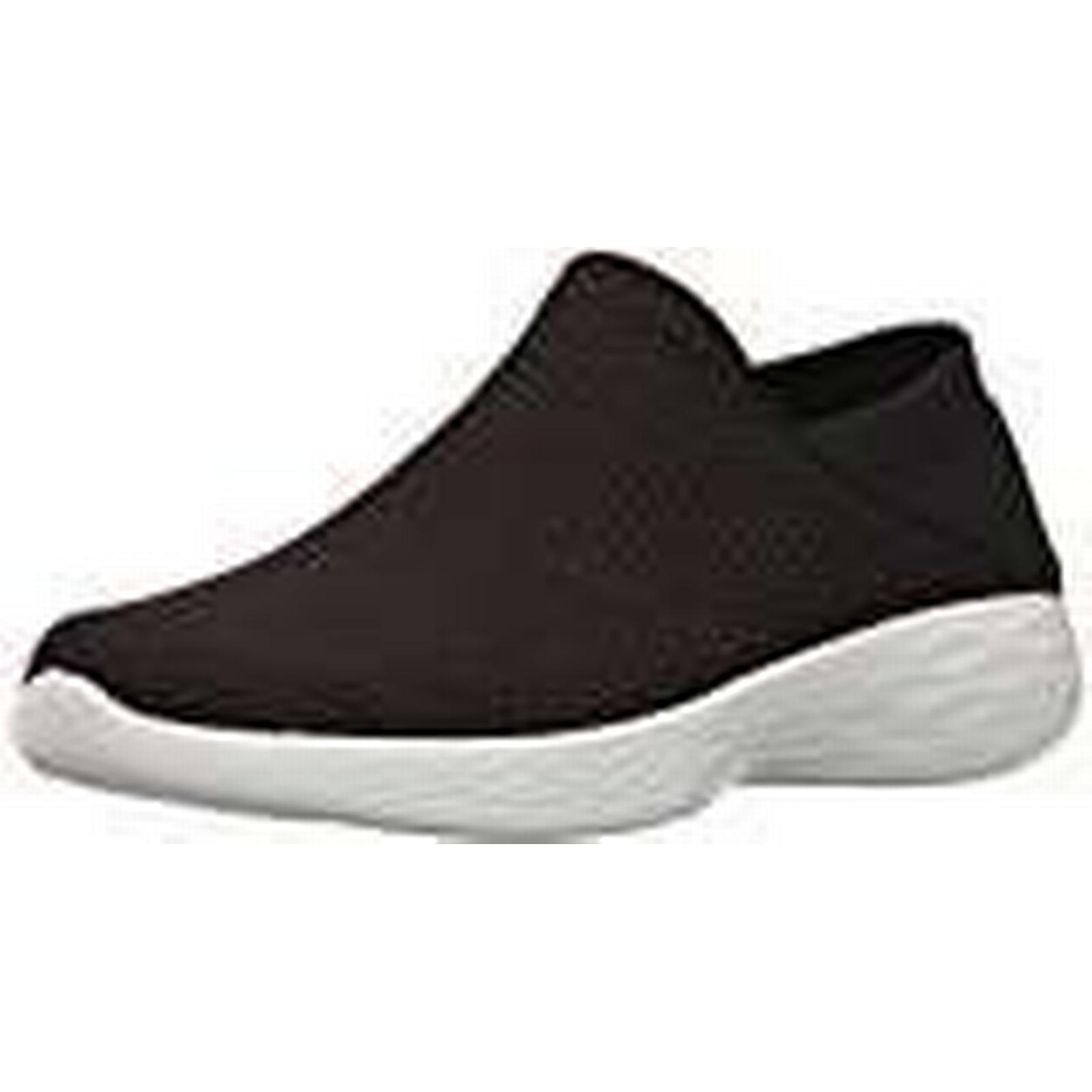 Skechers Women's You Low-Top 6 Sneakers, Black, Black (Bkw), 6 Low-Top UK da4bdd