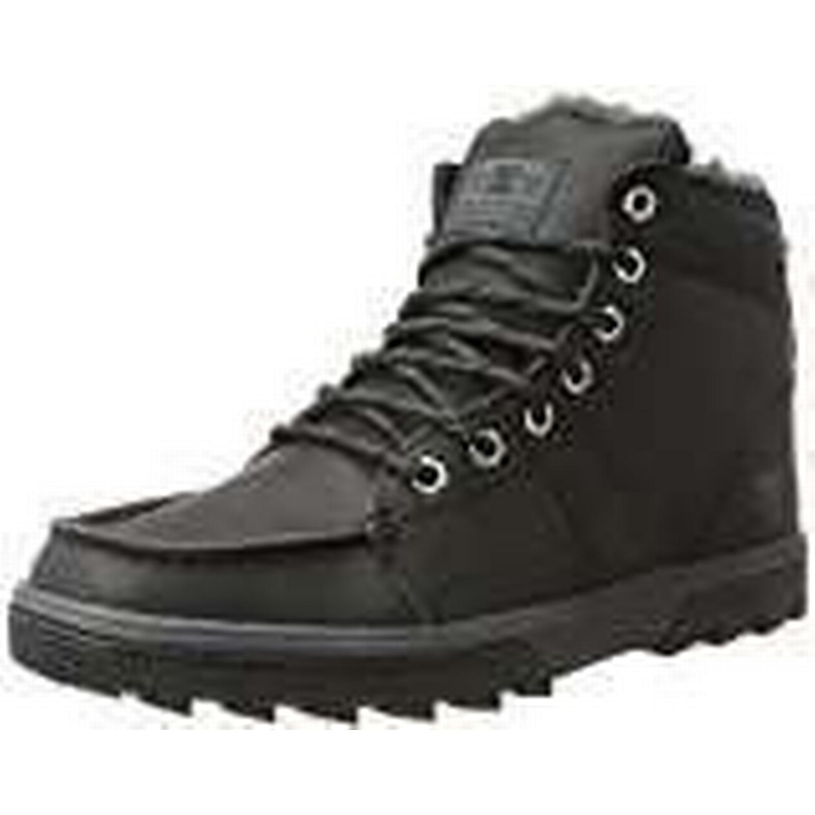 DC Classic Shoes Men''s Woodland Classic DC Boots, Black/Grey-Combo, 9.5 UK d45fa1