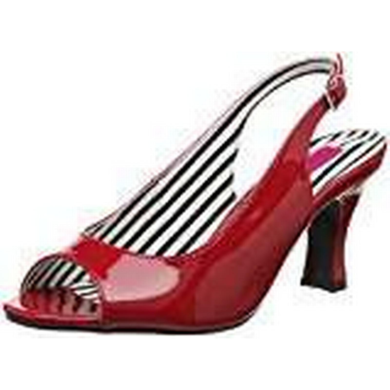 Pleaser Pink Label Women''s Jenna-02 Sling Back 41 Heels, (Red Pat), 8 41 Back EU 8b1a7e