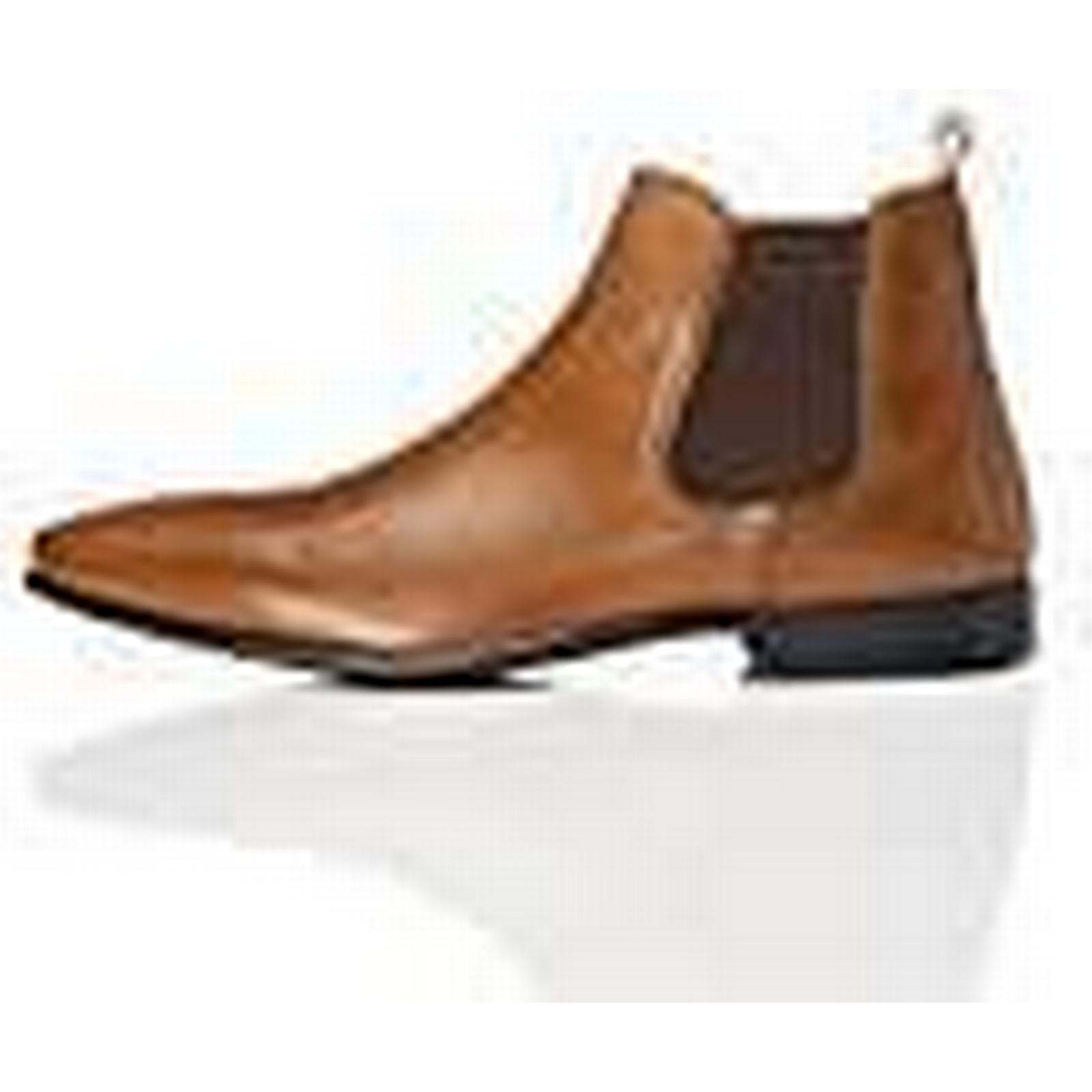 FIND Albany Formal, Men's Chelsea Boots, Brown EU) (Tan), 12 UK (46 EU) Brown 6bd90c