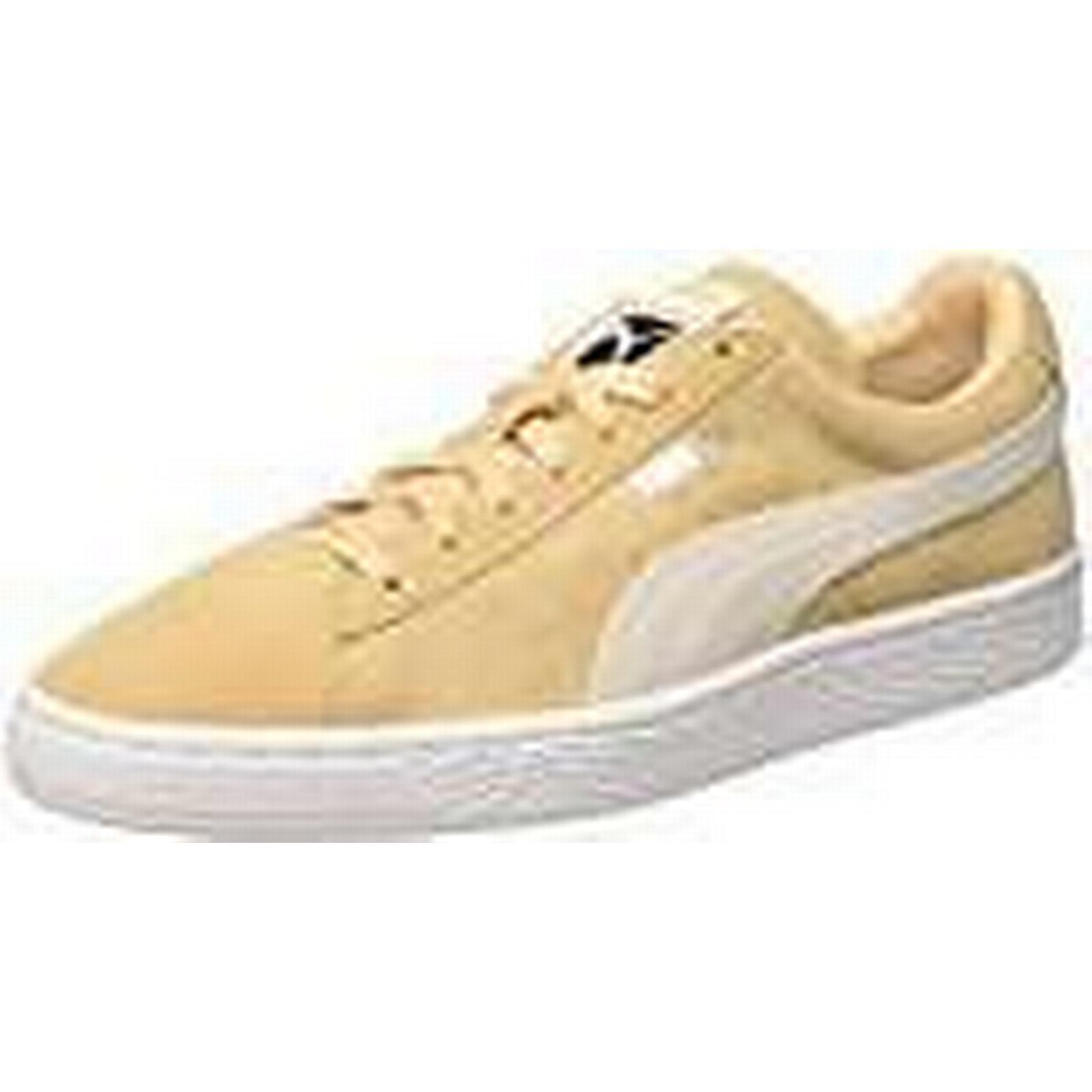 Puma Unisex Adults' Suede Classic + Vachetta Low-Top Sneakers, Beige (Natural Vachetta + White 08), 7.5 UK f573a6
