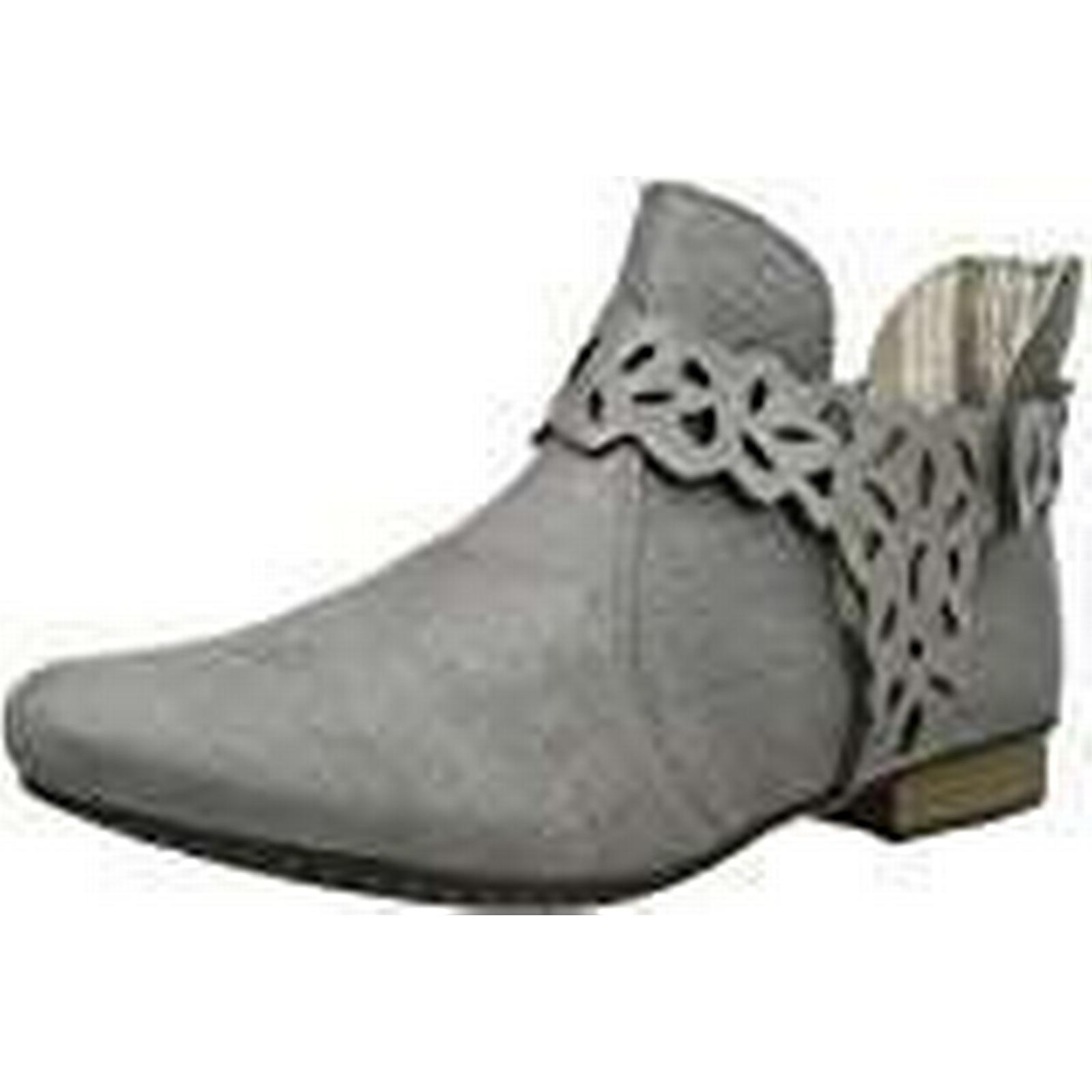 Rieker Grey Women's 71995 Ankle Boots, Grey Rieker (Steel), 6 UK b8b4f6
