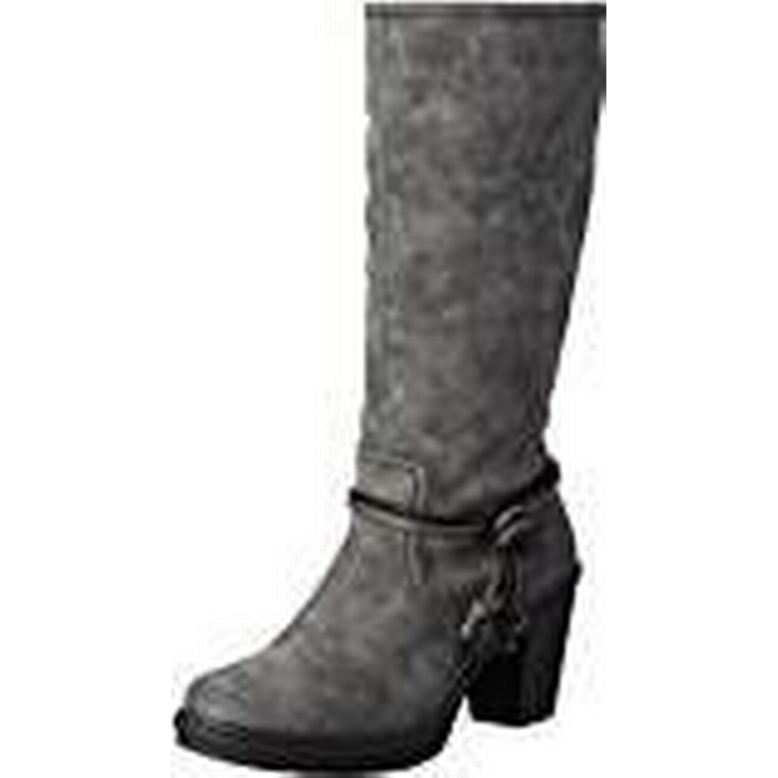 Rieker Women's Grey Y1594 Long Boots, Grey Women's (Smoke/45), 6 UK 9d3dff
