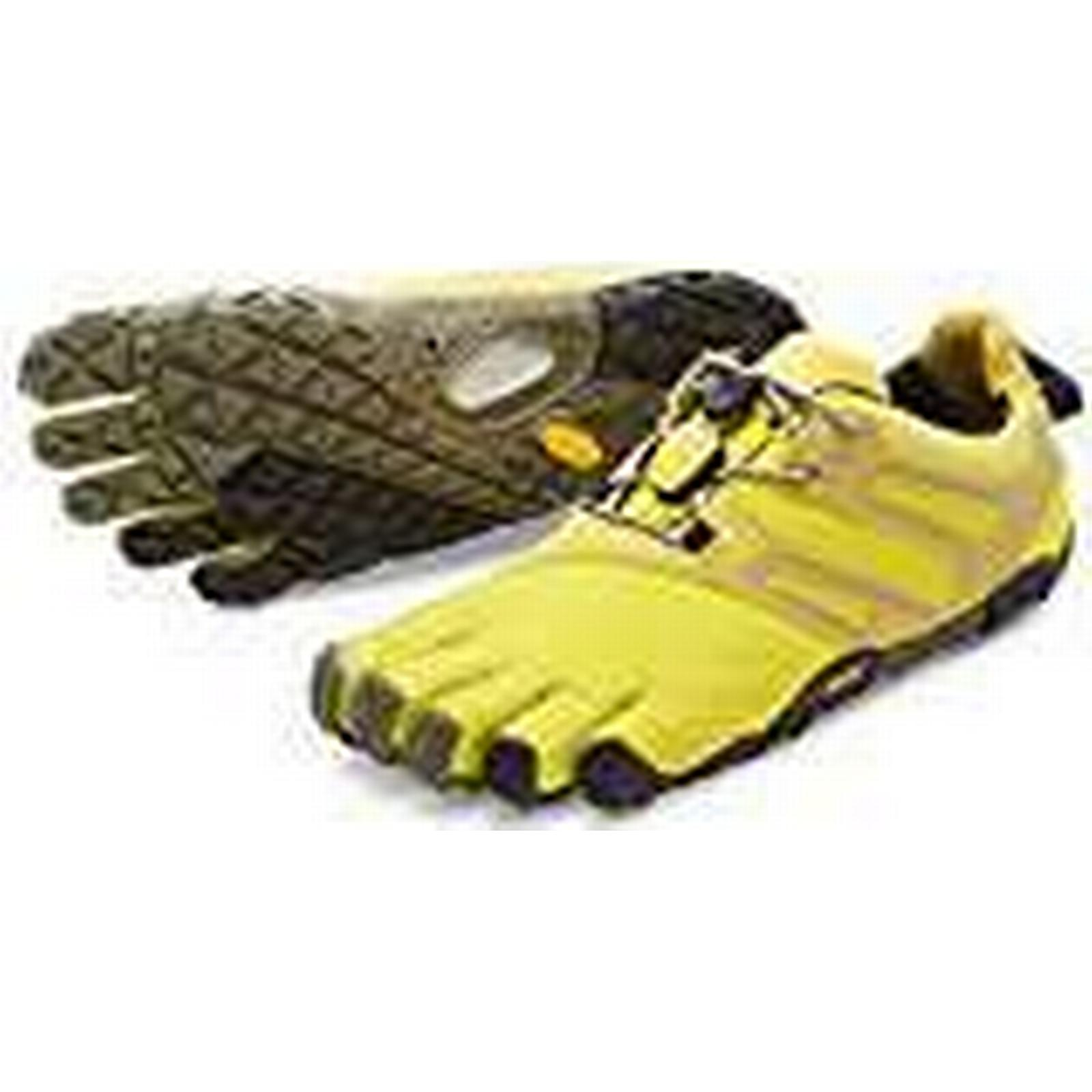 Vibram FiveFingers V-trail, Purple Women's Trail Running Shoes, Purple V-trail, (Yellow / Black), 6.5-7 UK (39 EU) df7f17