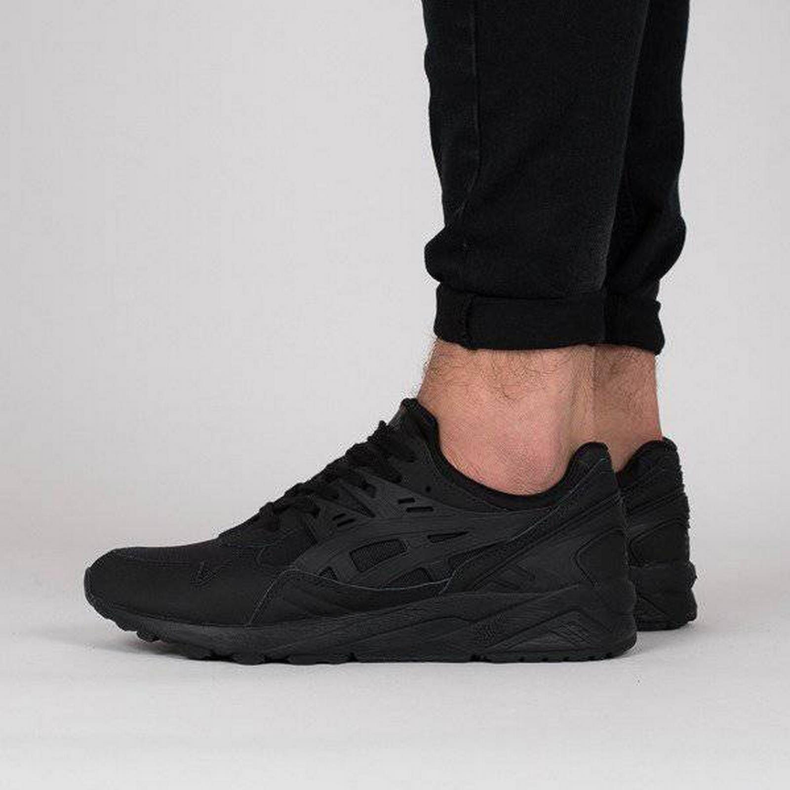 Asics Tiger Gel-Kayano Men's Shoes sneakers Asics Gel-Kayano Tiger Trainer HN7J3 9090 BLACK Size 40,5 e10f4c