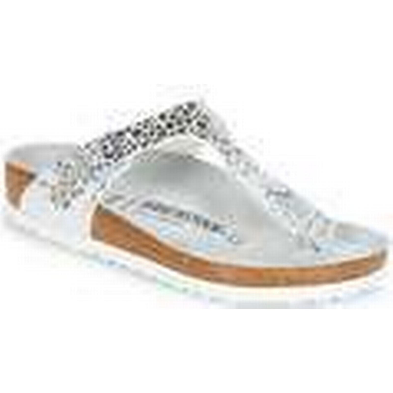 Birkenstock  GIZEH   GIZEH women's Flip flops / Sandals (Shoes) in Silver 87323d