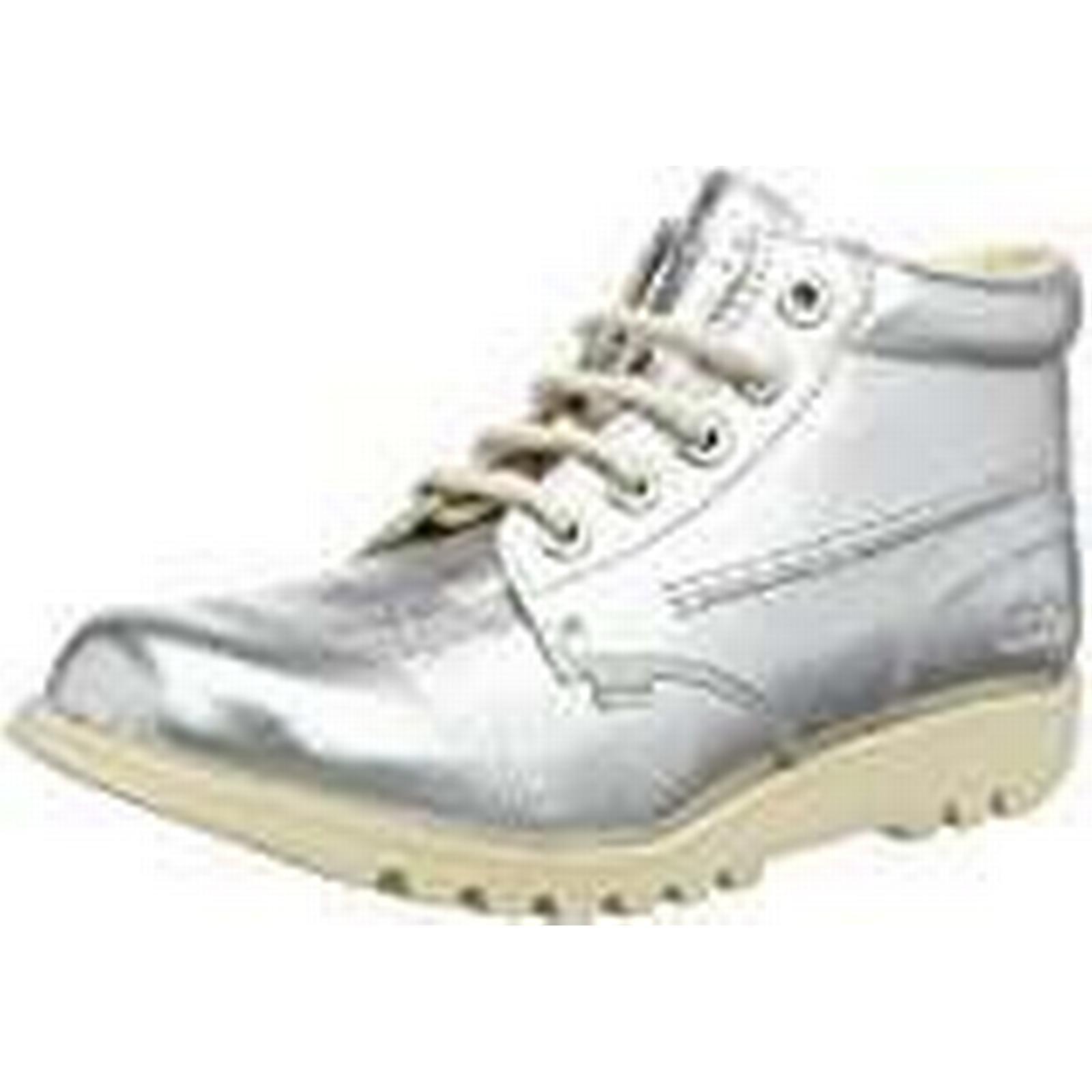 Kickers Kick Hi, Women's Ankle EU Boots, Silver (Metallic), 39 EU Ankle f54286