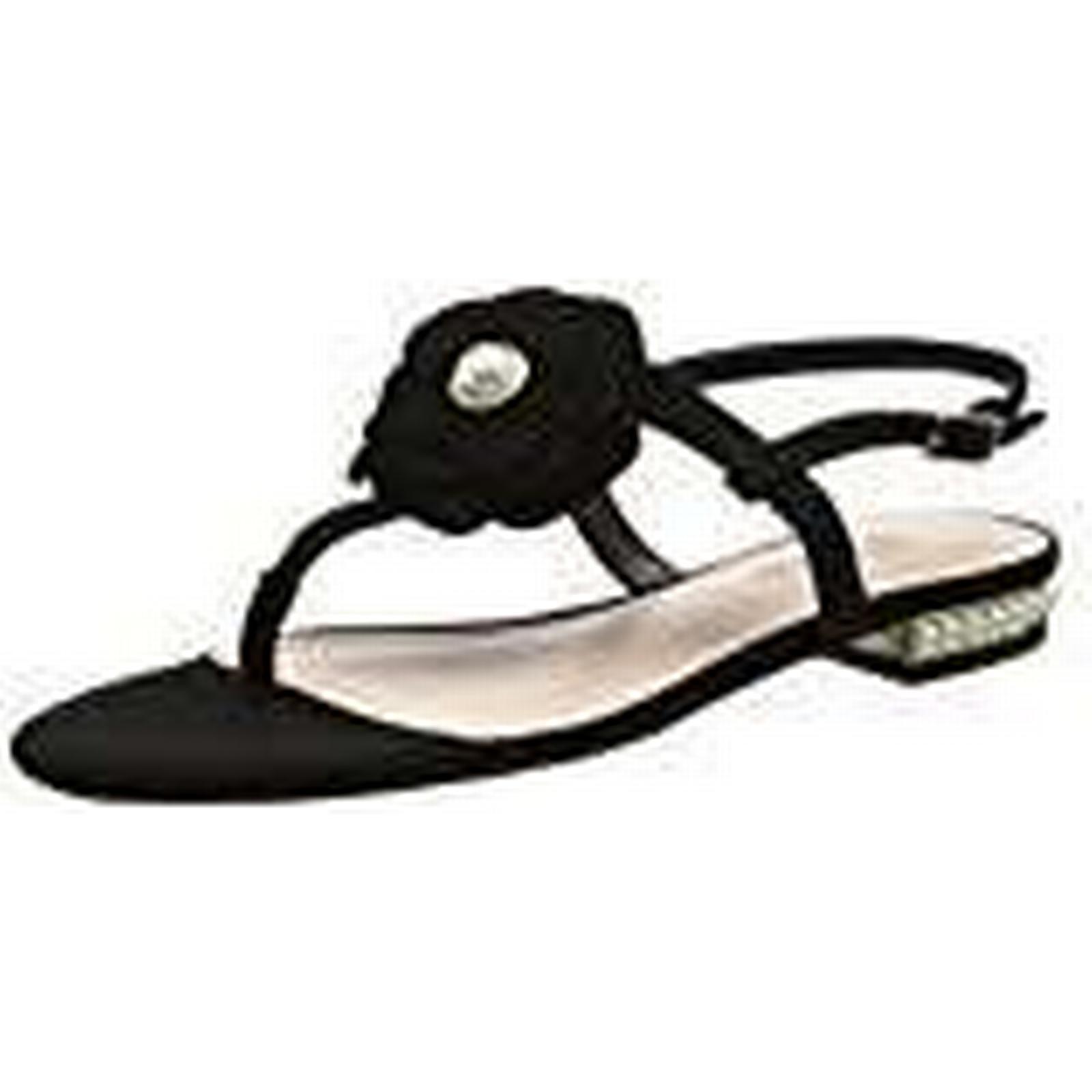 Dune Women's Nelles T-Bar Sandals, EU (Black), 6 UK 39 EU Sandals, cb672a