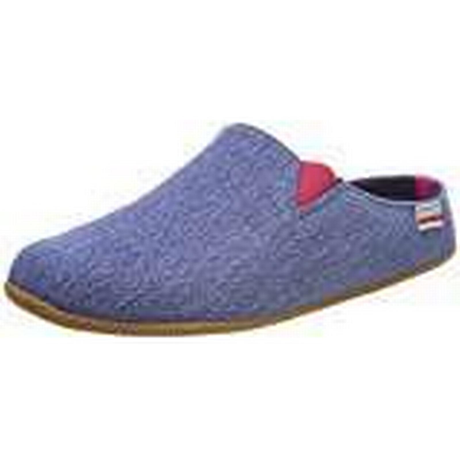 Giesswein Women's Pama Open Back UK Slippers, Blue (Jeans), 6 UK Back 5d8163