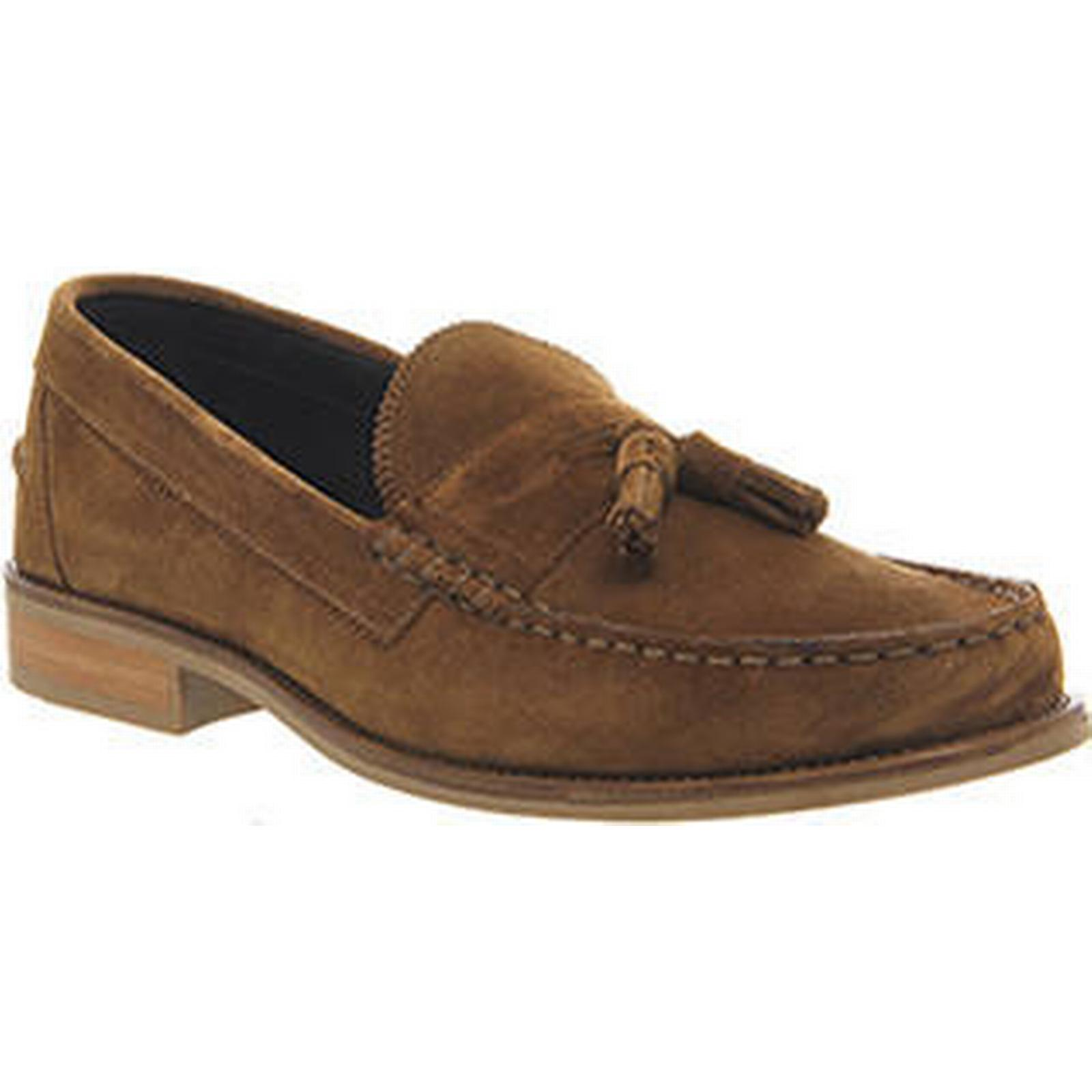 Ask Bonjourno the Missus Bonjourno Ask Tassel loafers RUST SUEDE 6f8936