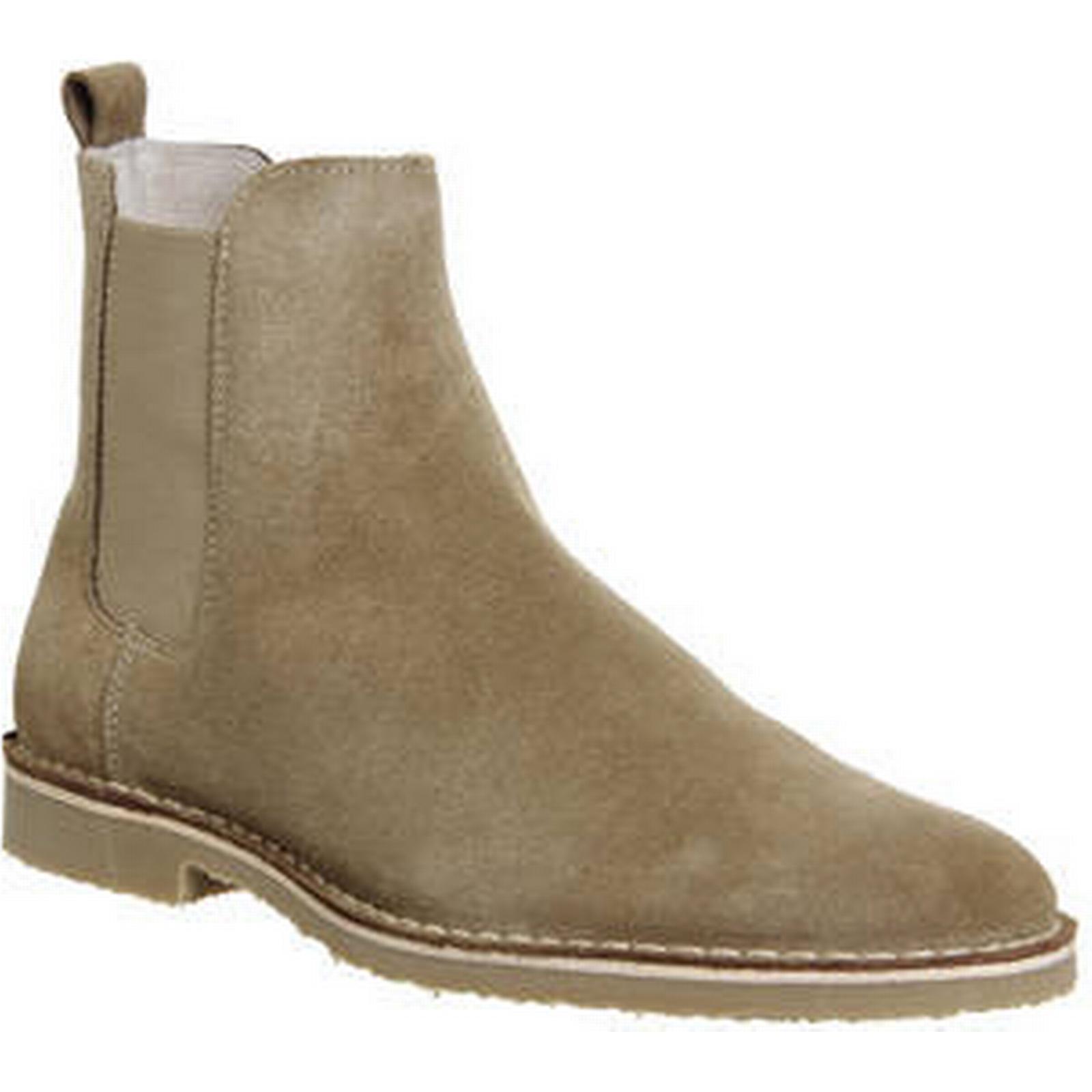 Ask the Missus SUEDE Danish Chelsea Boot BEIGE SUEDE Missus 971da5