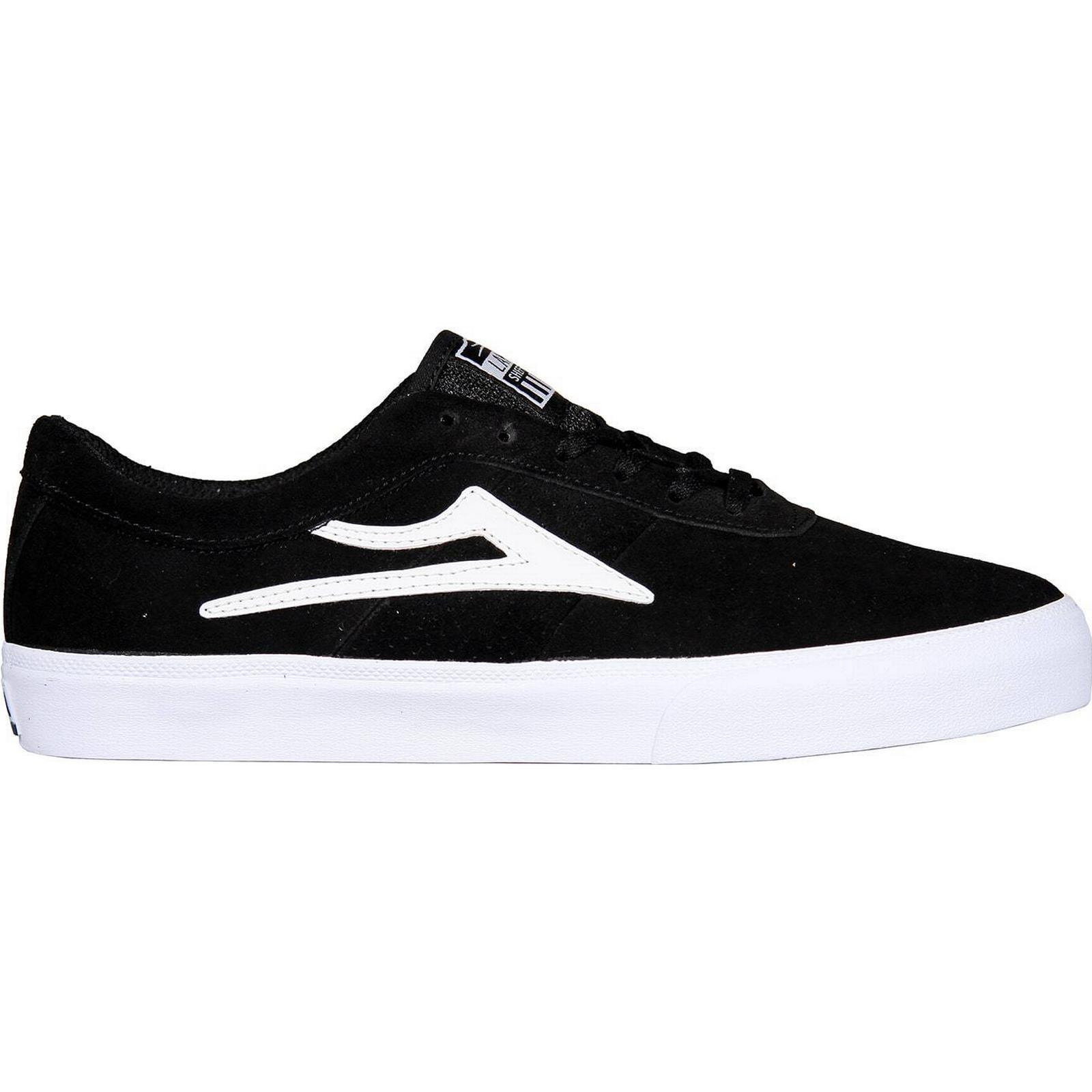 Lakai Black Sheffield Skate Shoes - Black Lakai Suede 18de2f