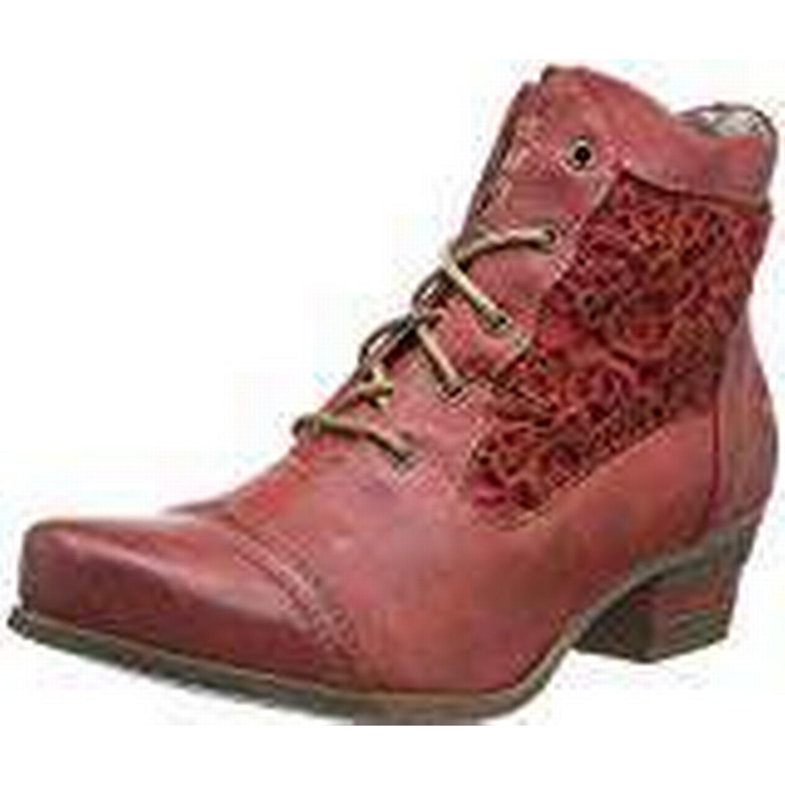Mustang 1187-501-5, Women's Ankle Boots, UK Red (5 Rot), 5 UK Boots, (38 EU) 258416