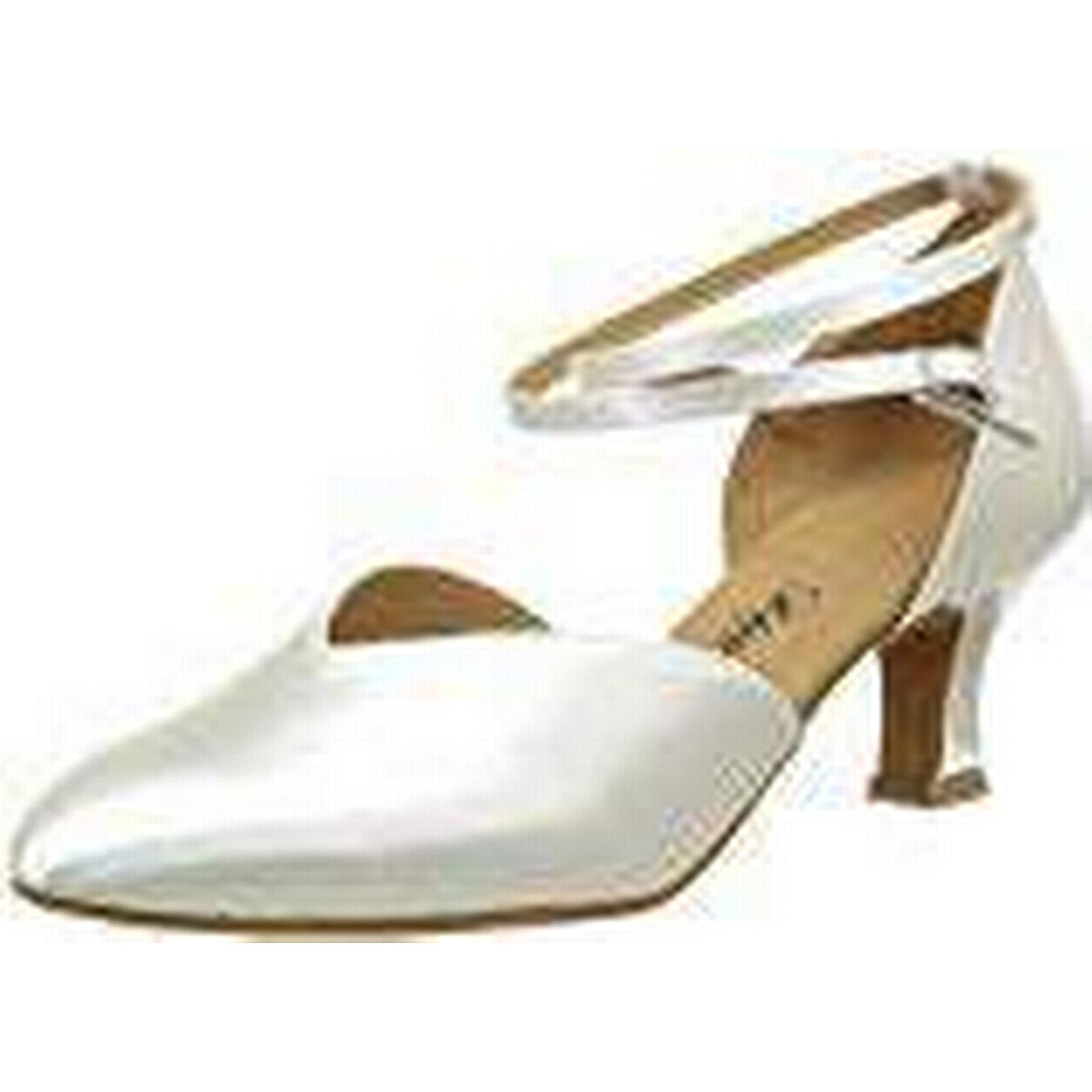 Diamant 105-068-092, UK Women's Ballroom Shoes, White (Weiß), 4.5 UK 105-068-092, (37 1/3 EU) 386cf2