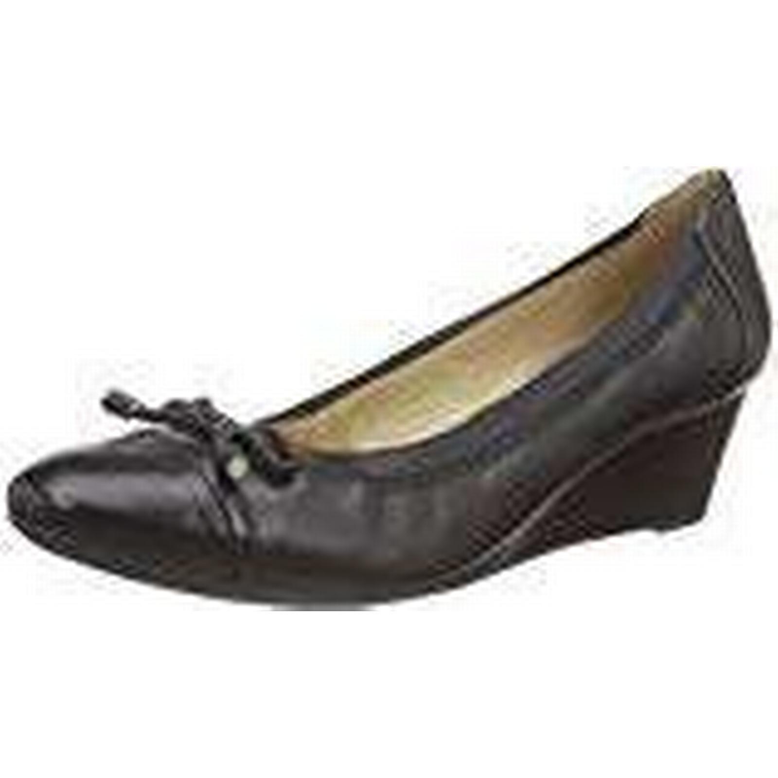 Geox D Floralie A, Women's UK Closed-Toe Pumps, Black (Blackc9999),5.5 UK Women's (38.5 EU) 8211cf
