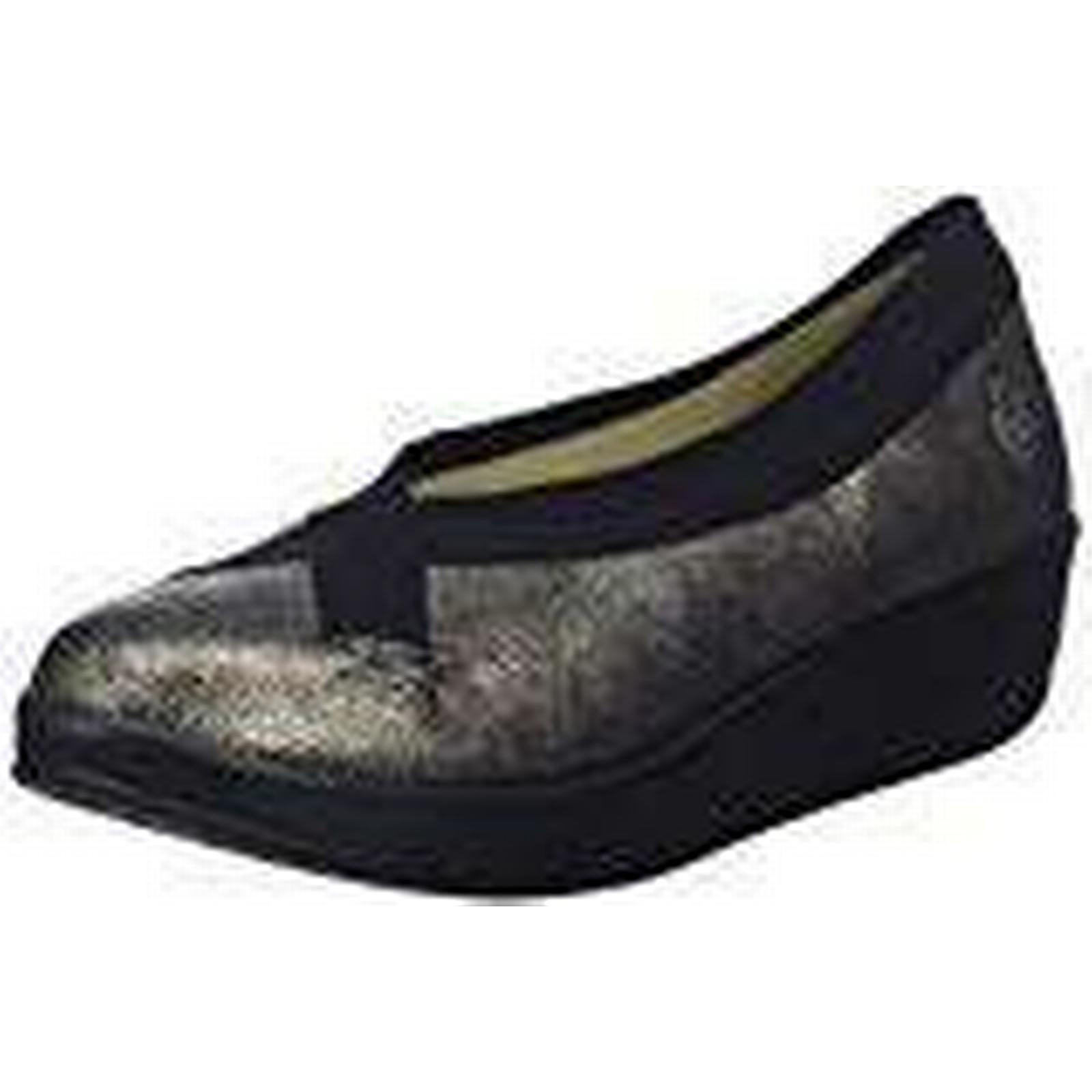 Fly London Women's Bobi (Graphite/Black), Closed Toe Ballet Flats, (Graphite/Black), Bobi 5 UK 38 EU e4bf87