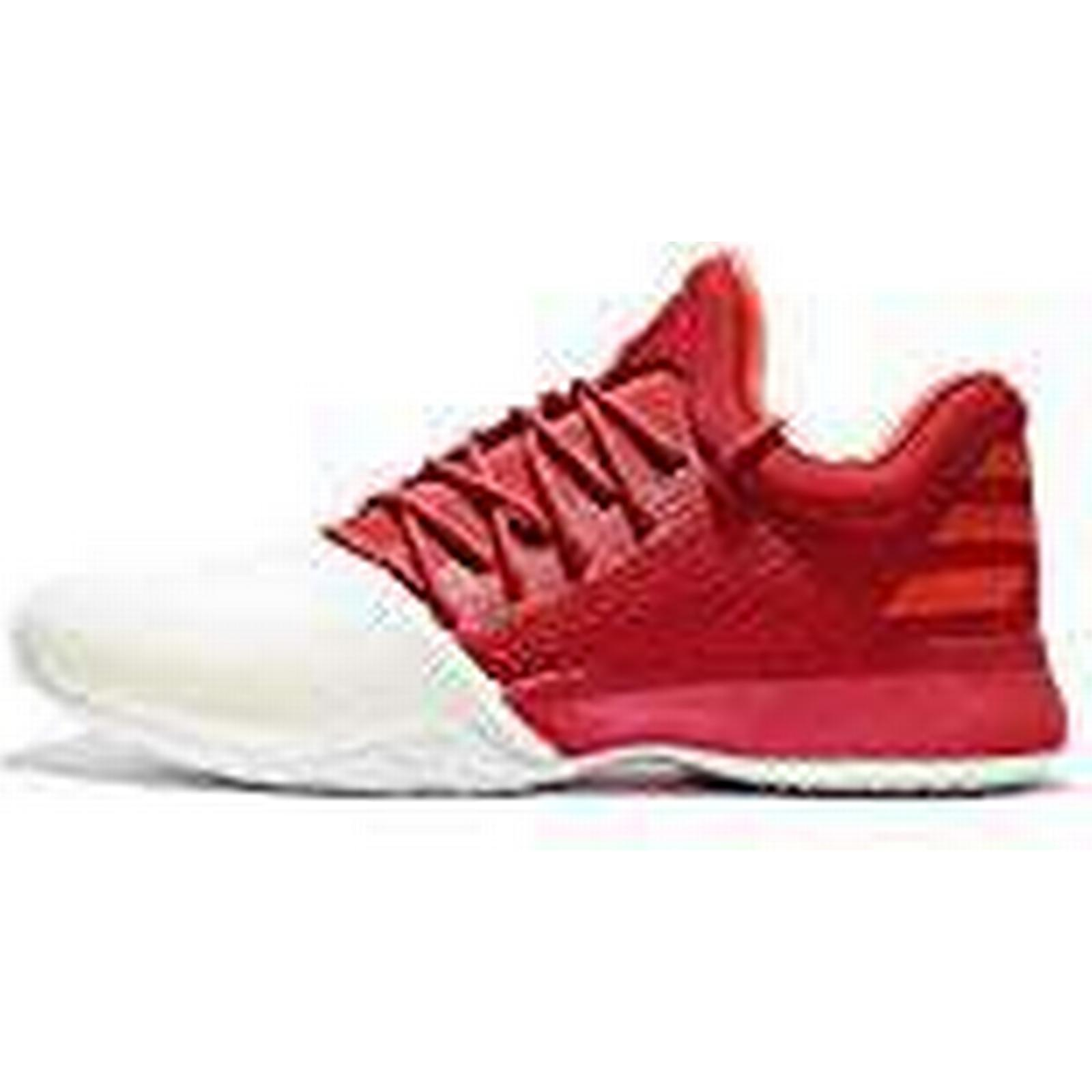 outlet store a420f 09b1f ... uk adidas men harden vol. 1 size bw0547 trainers red white size 1 uk 15