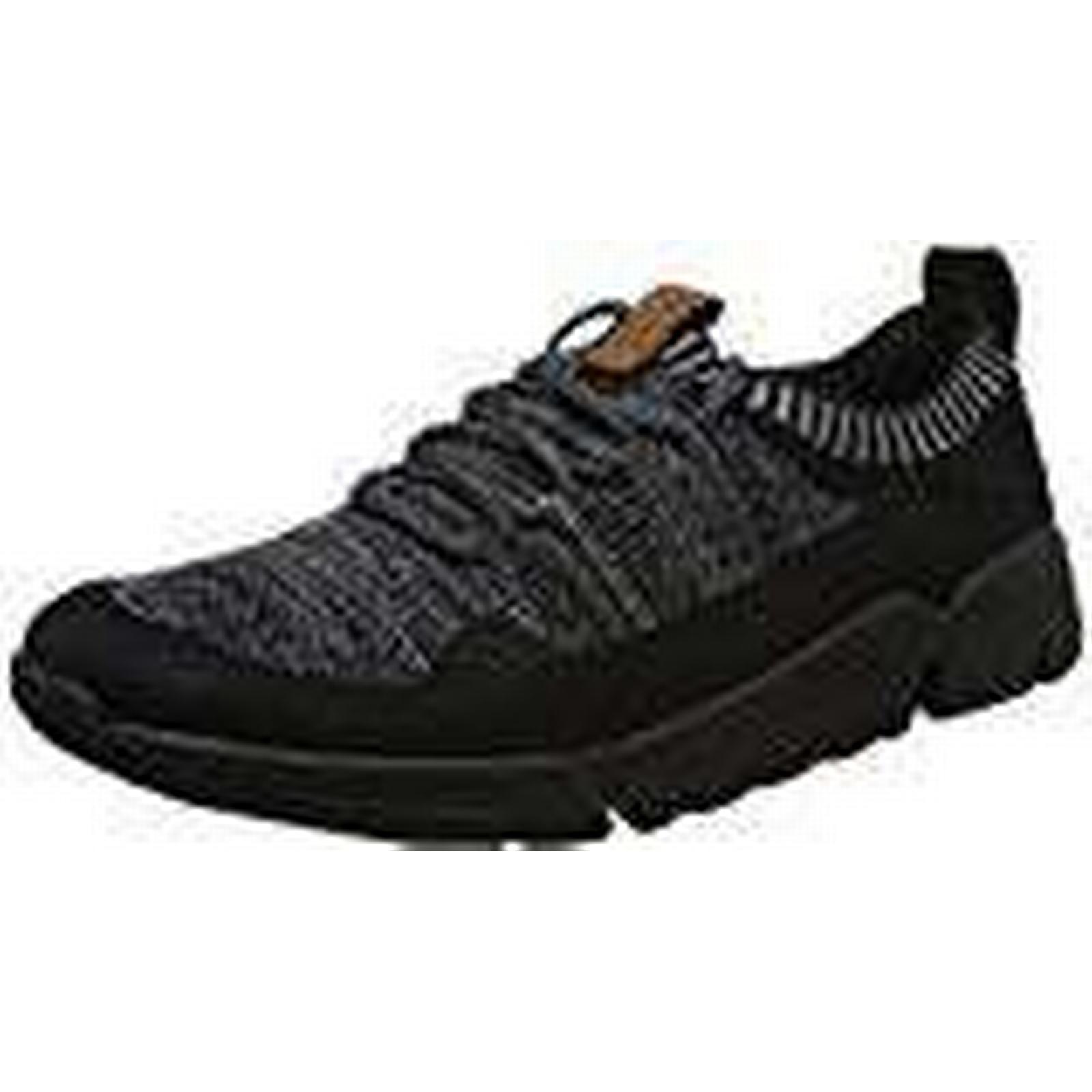 Clarks Men's Triactive Knit 10 Trainers, (Black Leather-), 10 UK 10 Knit UK 5c340a