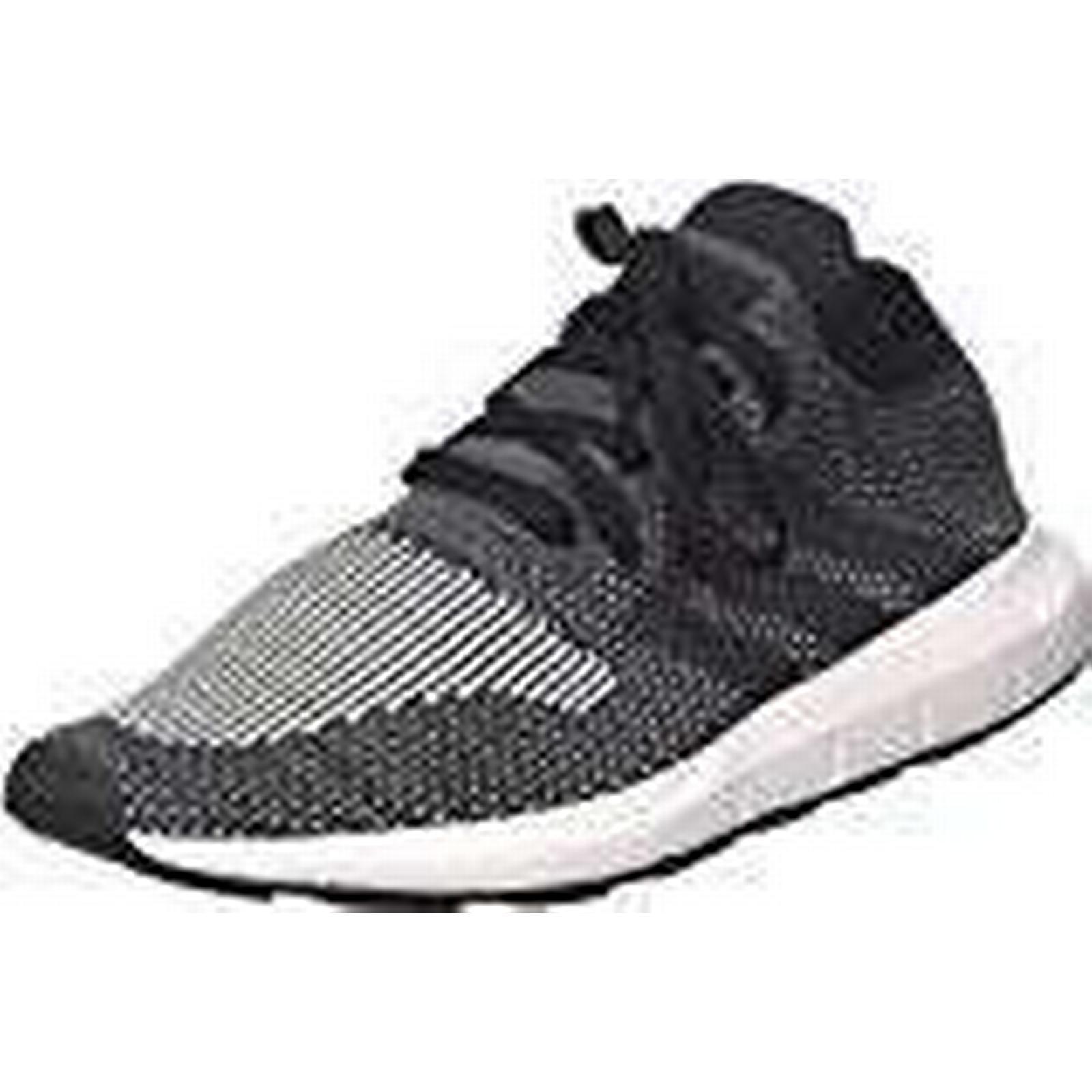 Adidas Men's Swift Run Medium Primeknit Trainers, (Core Black Medium Run Grey Heather), 8.5 UK 42 2/3 EU 81093a