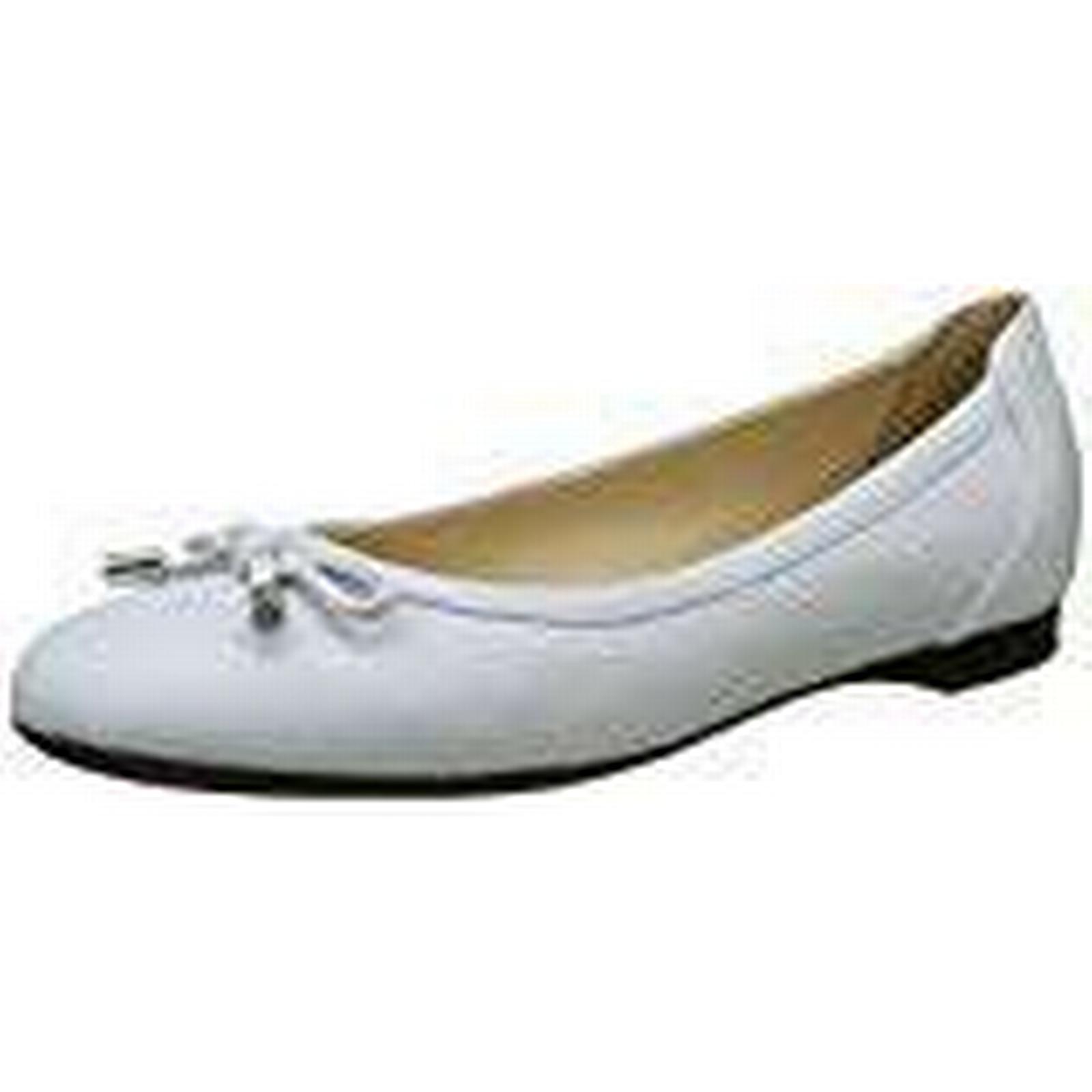 Geox Women''s D Lamulay D UK Ballet Flats, White, 4 UK D 4 UK b2e2d8