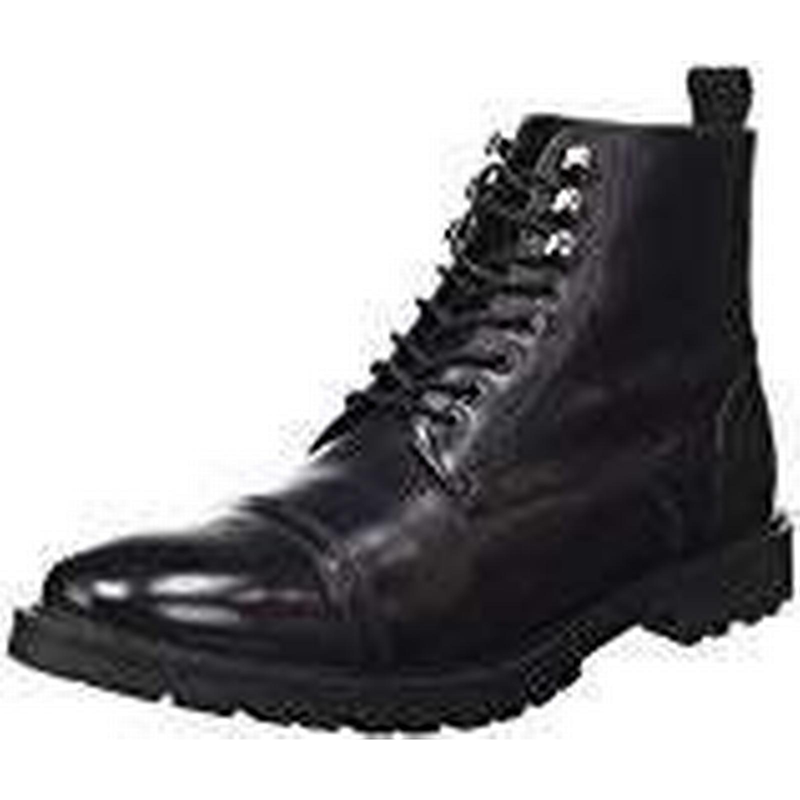 Base Boots London Mens RP04 Boots Base Black Size: 10 UK df4ea1