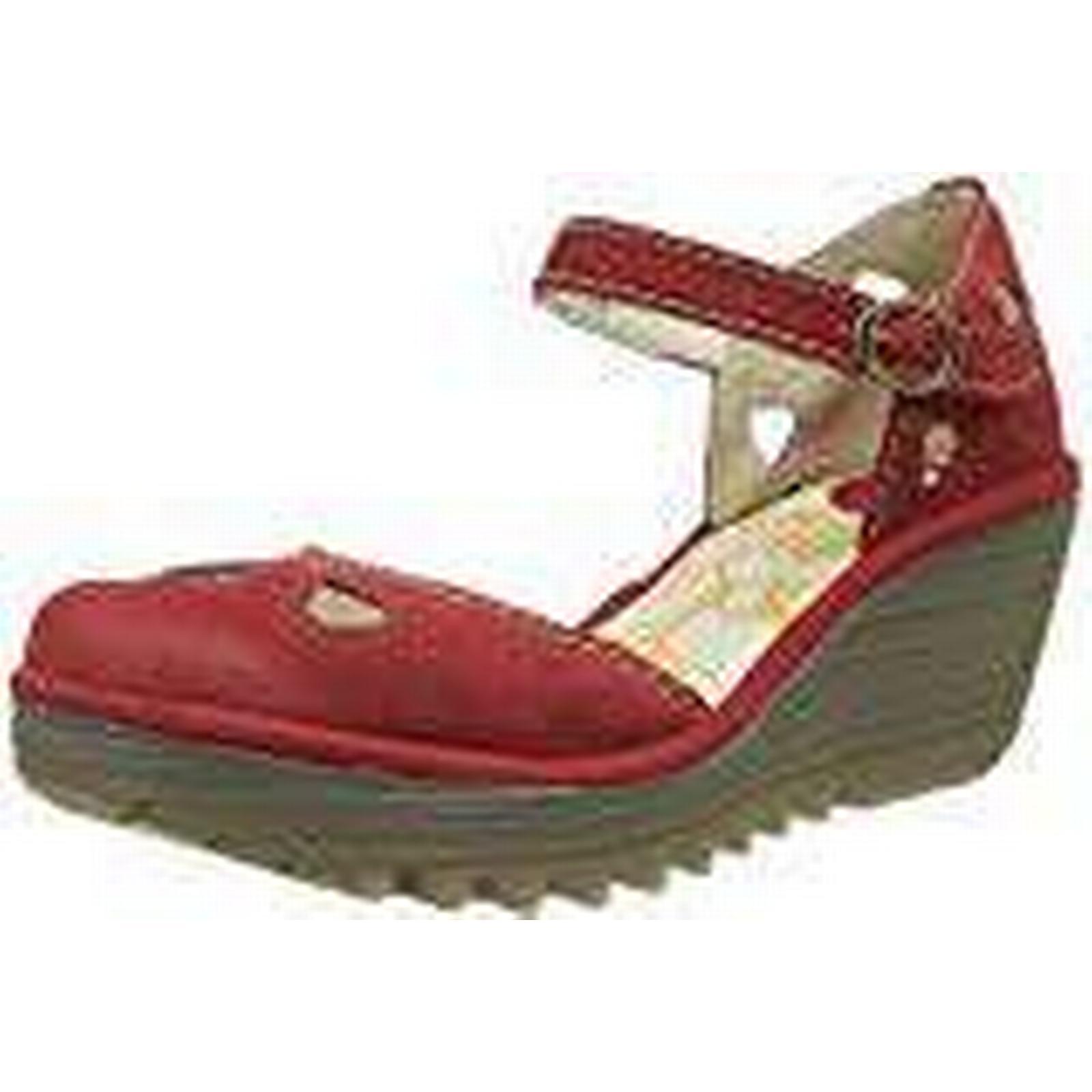 Fly London Women's YUNA Closed 135), Toe Heels, (Lipstick Red 135), Closed 4 (37 EU) fd39cf